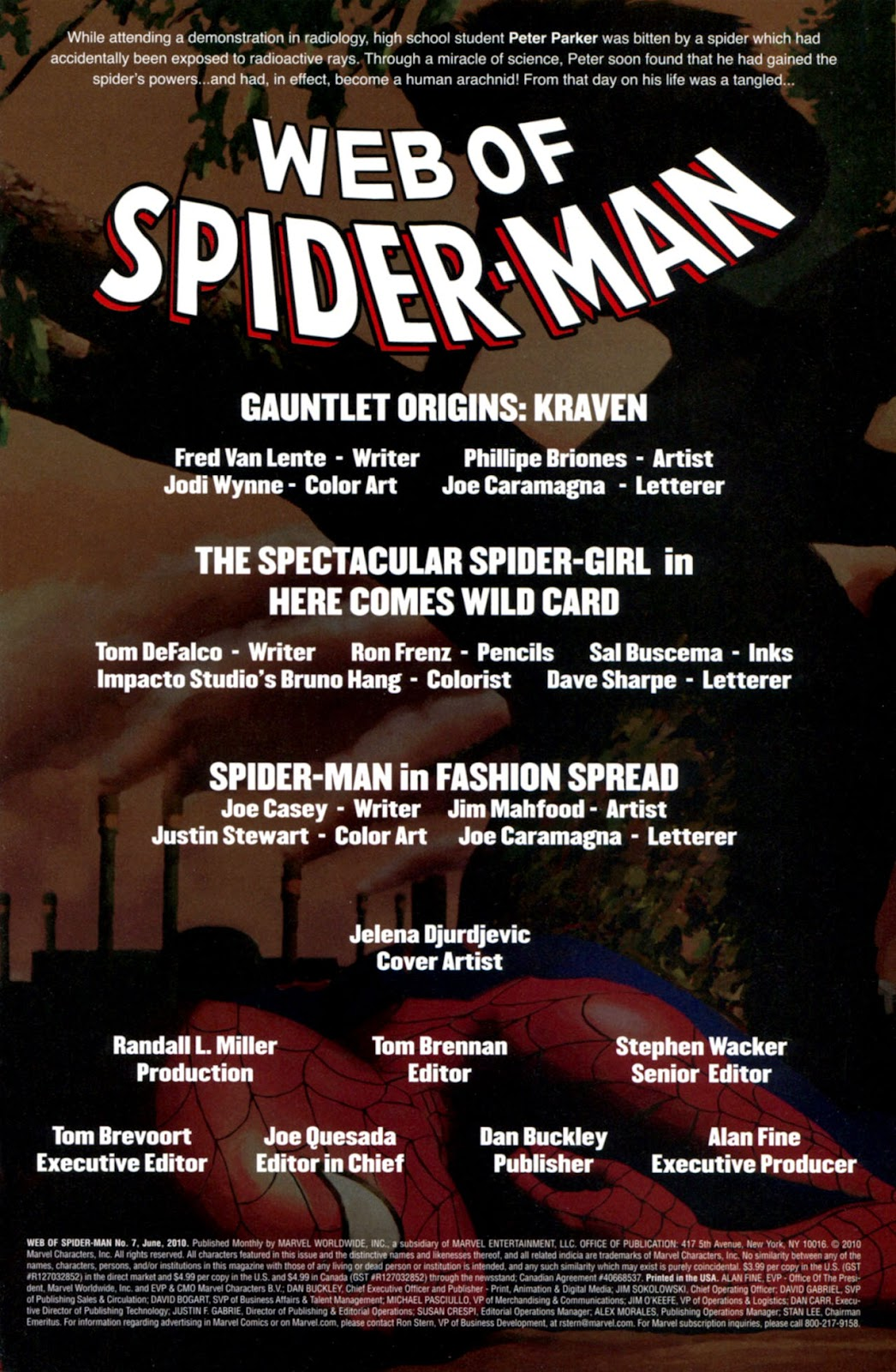 Web of Spider-Man (2009) Issue #7 #7 - English 2