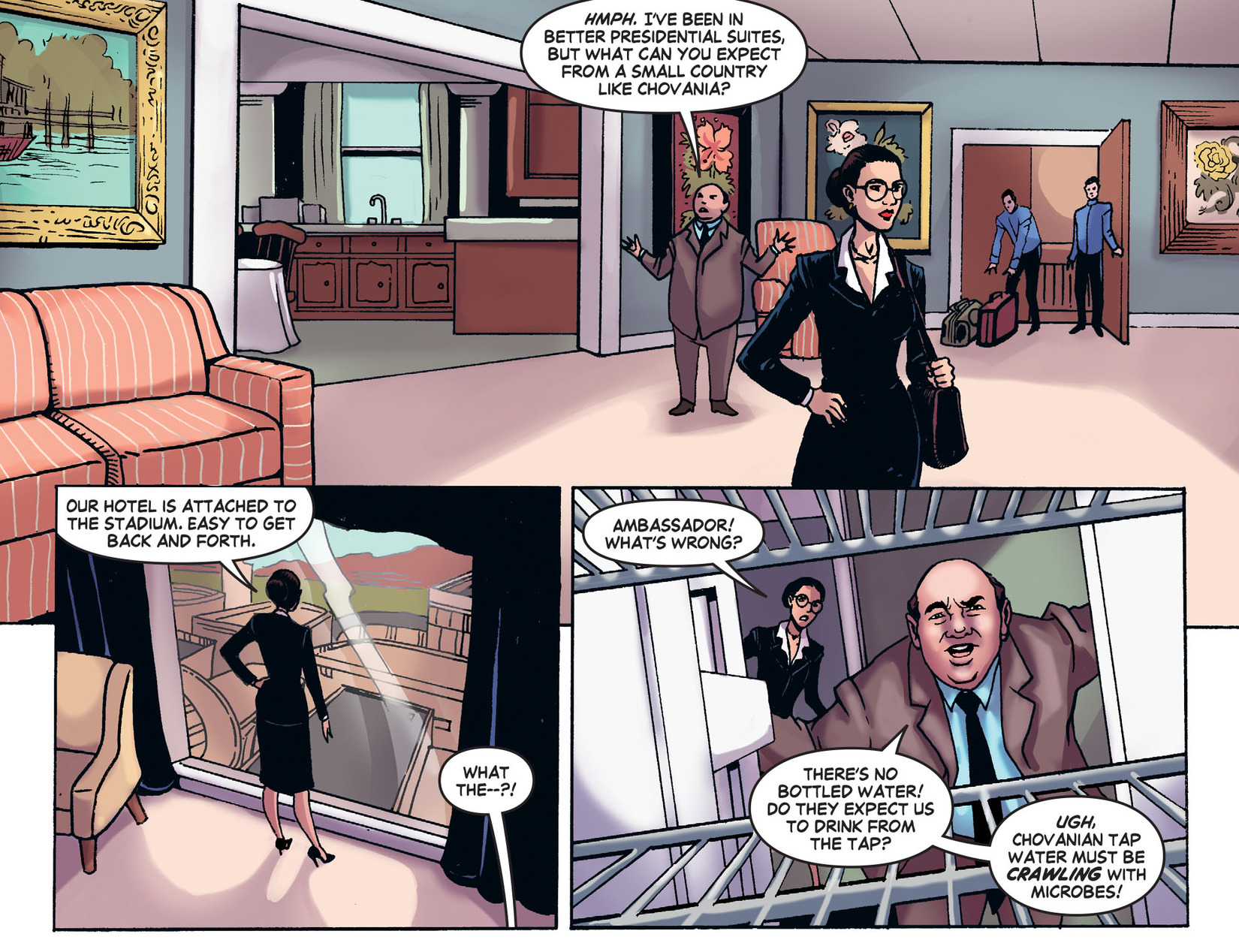 Read online Wonder Woman '77 [I] comic -  Issue #25 - 5