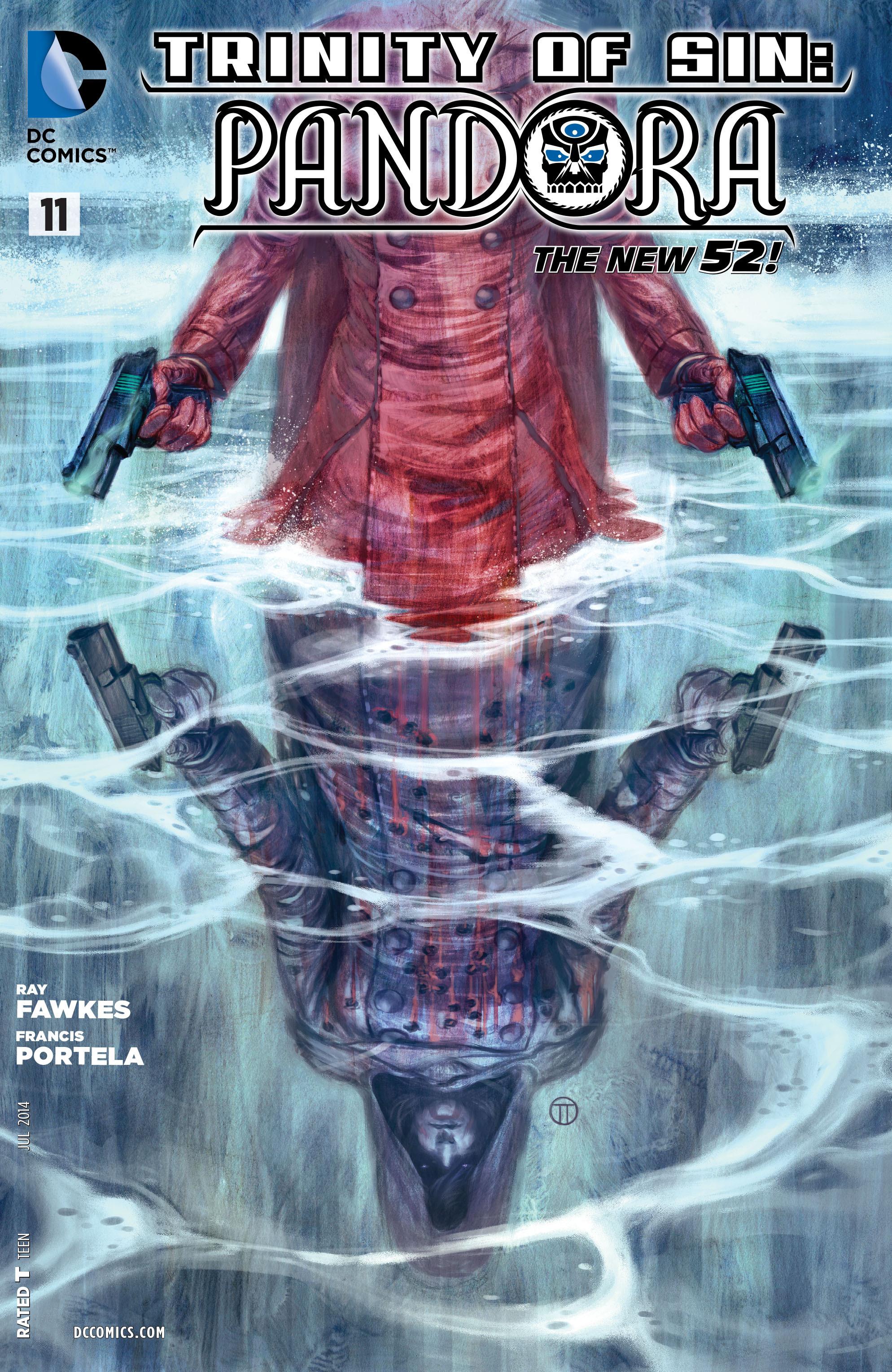 Read online Trinity of Sin: Pandora comic -  Issue #11 - 1