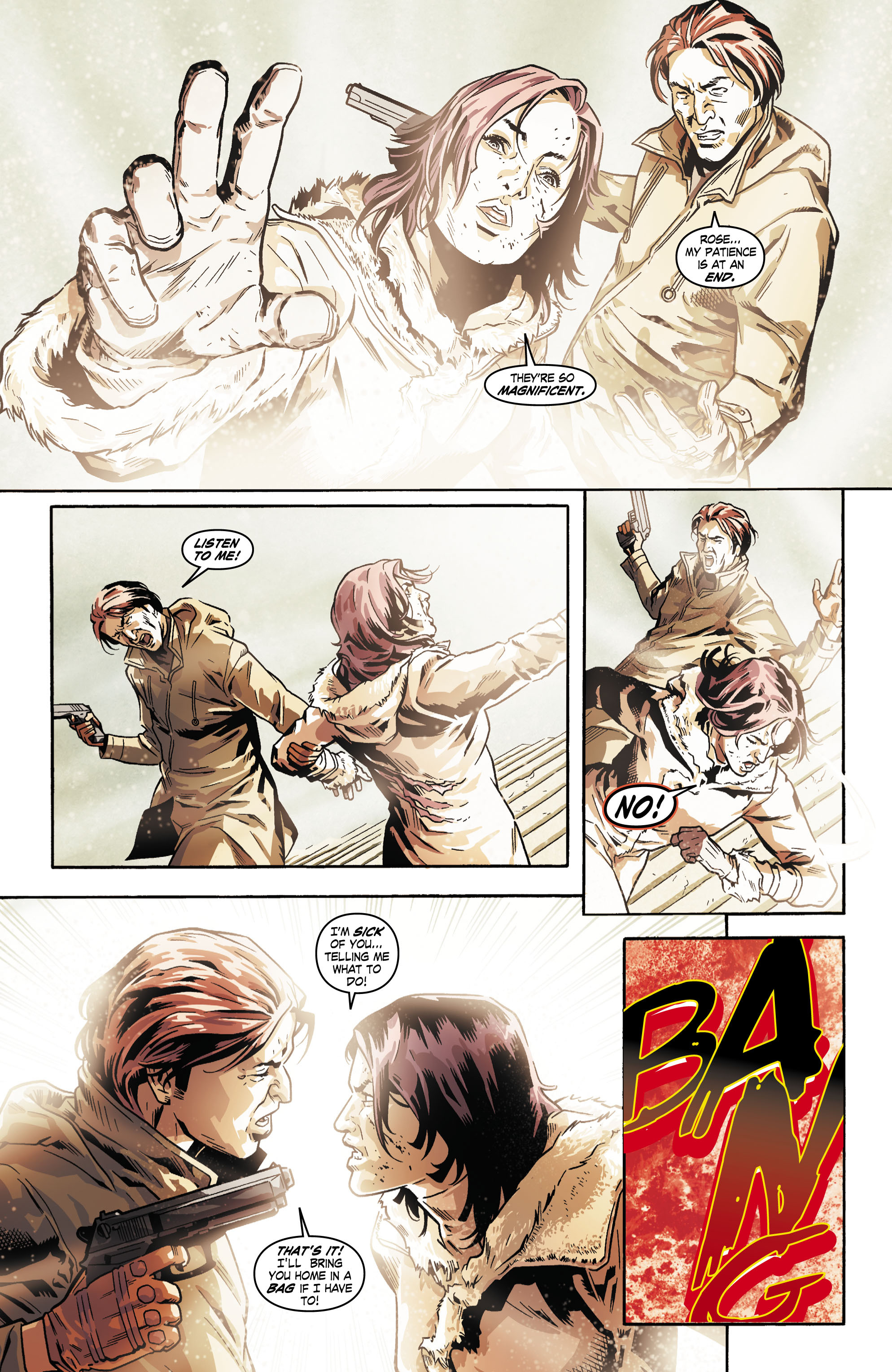 Read online Uncharted comic -  Issue #5 - 16
