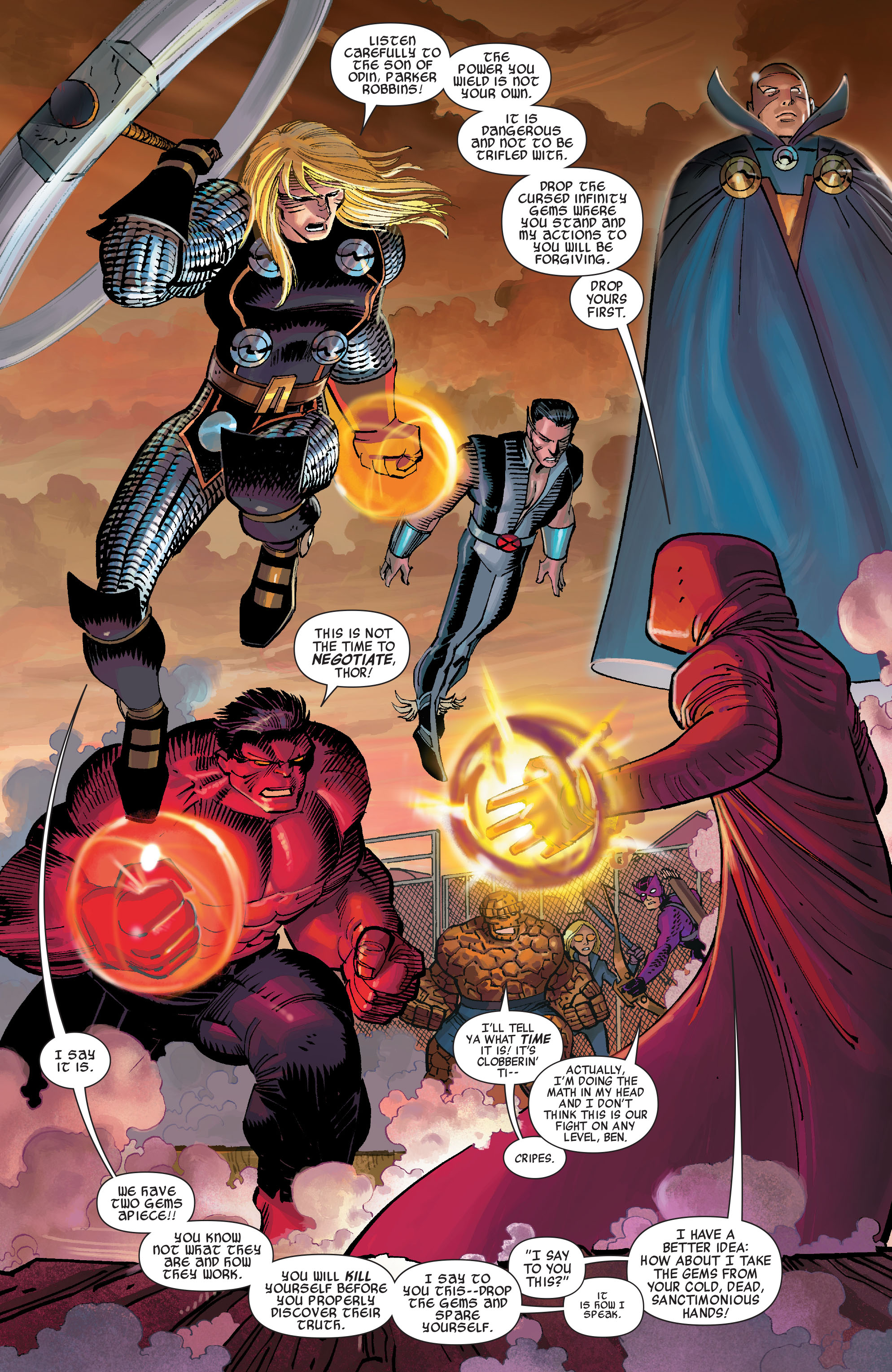 Read online Avengers (2010) comic -  Issue #11 - 14