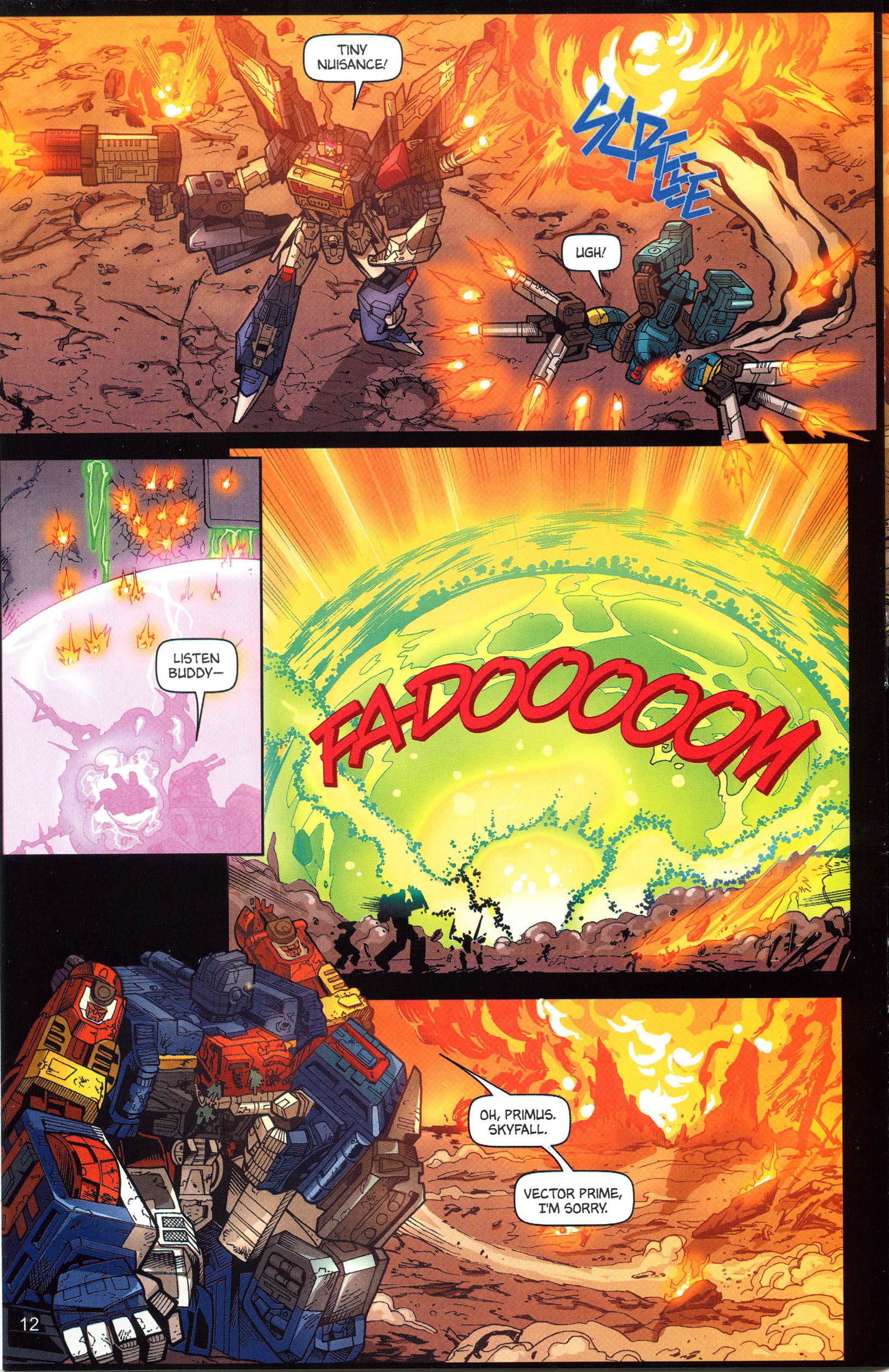 Read online Transformers: Collectors' Club comic -  Issue #12 - 12