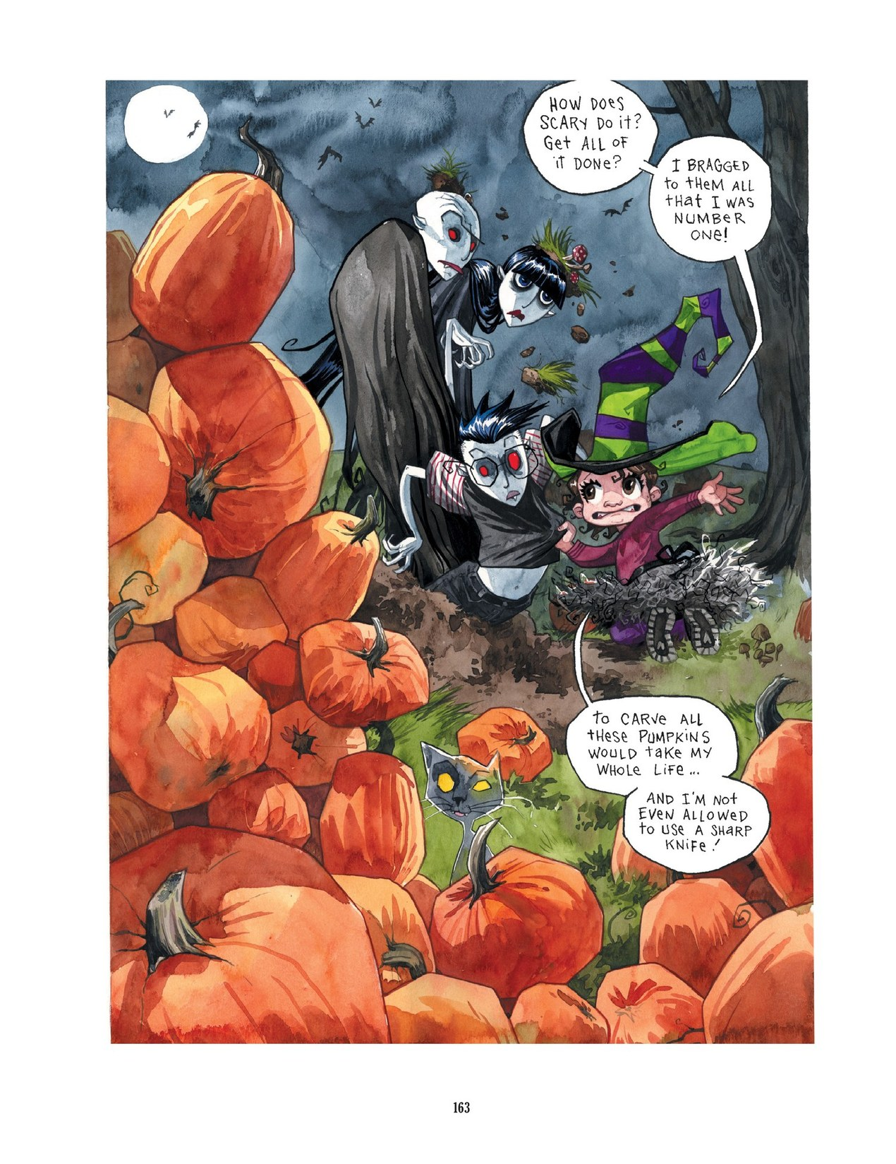 Read online Scary Godmother comic -  Issue # TPB - 163