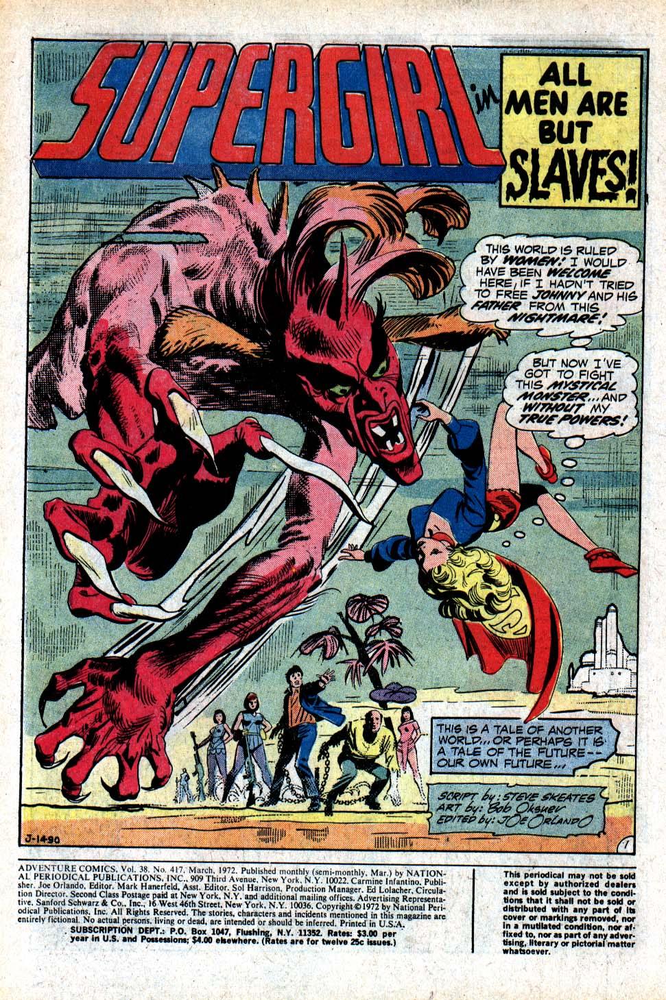 Read online Adventure Comics (1938) comic -  Issue #417 - 3