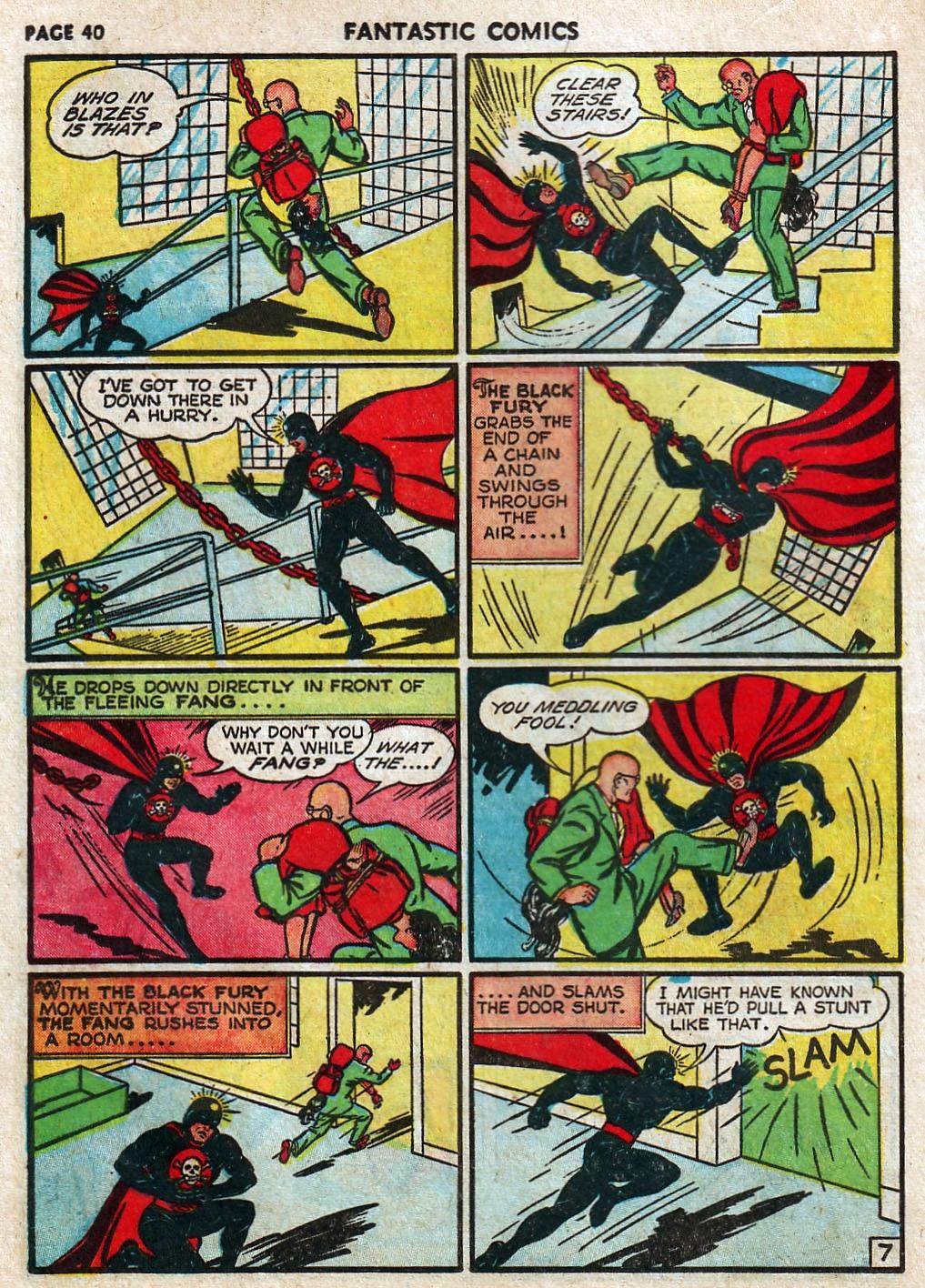 Read online Fantastic Comics comic -  Issue #17 - 41