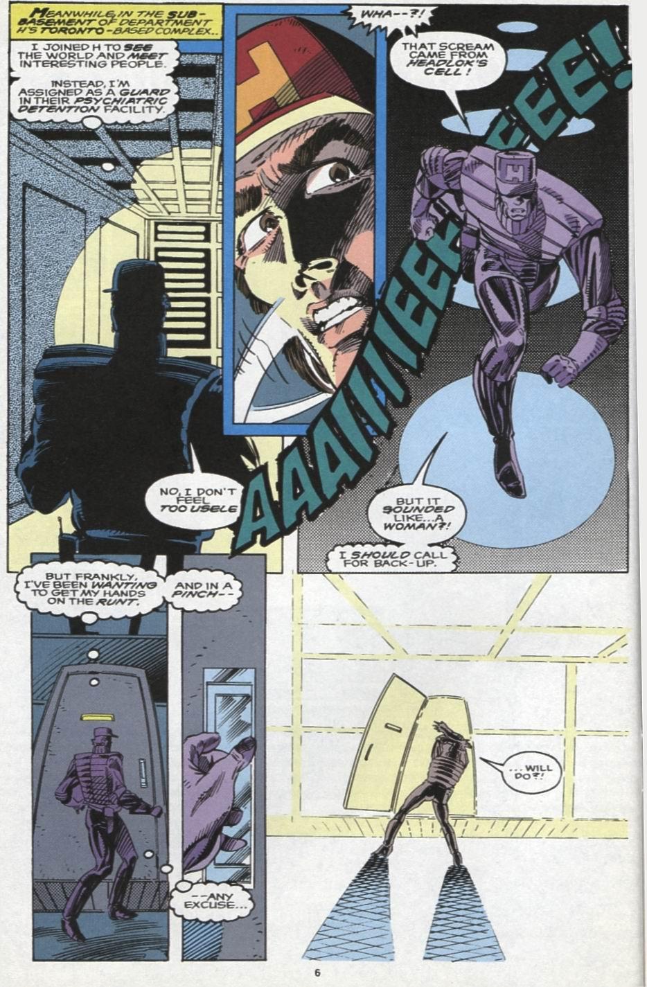 Read online Alpha Flight (1983) comic -  Issue #104 - 6