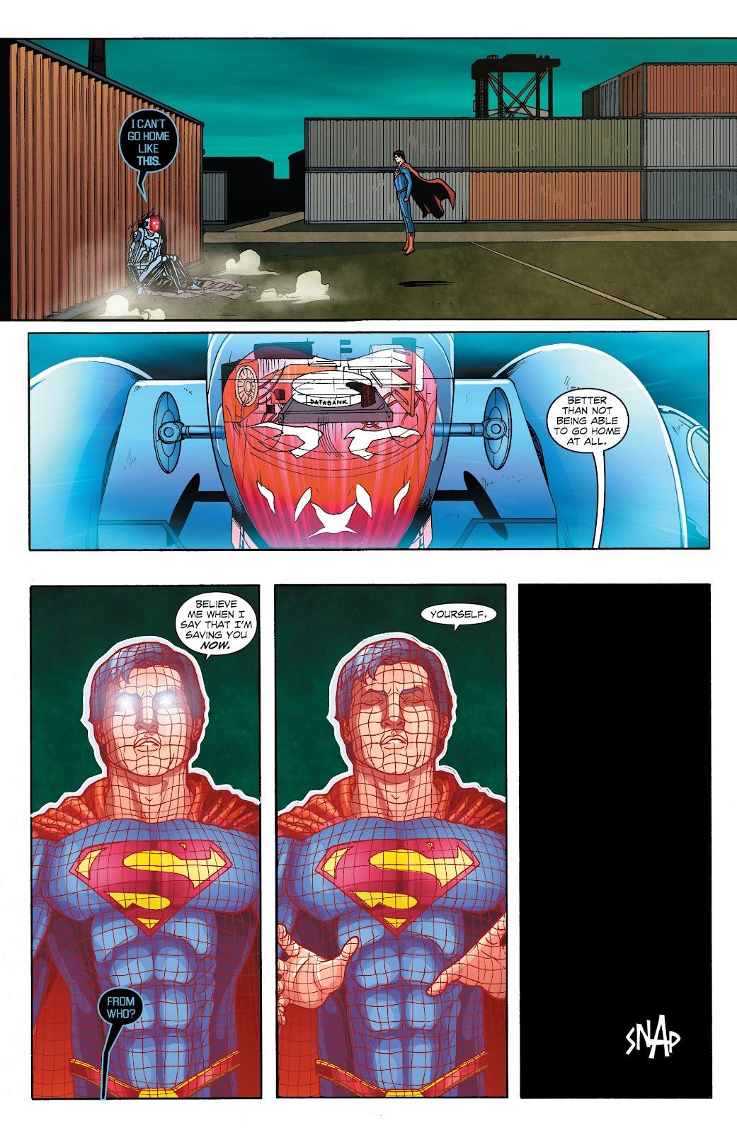 Read online Smallville Season 11 [II] comic -  Issue # TPB 1 - 116
