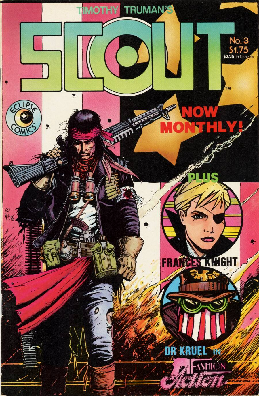 Read online Scout comic -  Issue #3 - 1