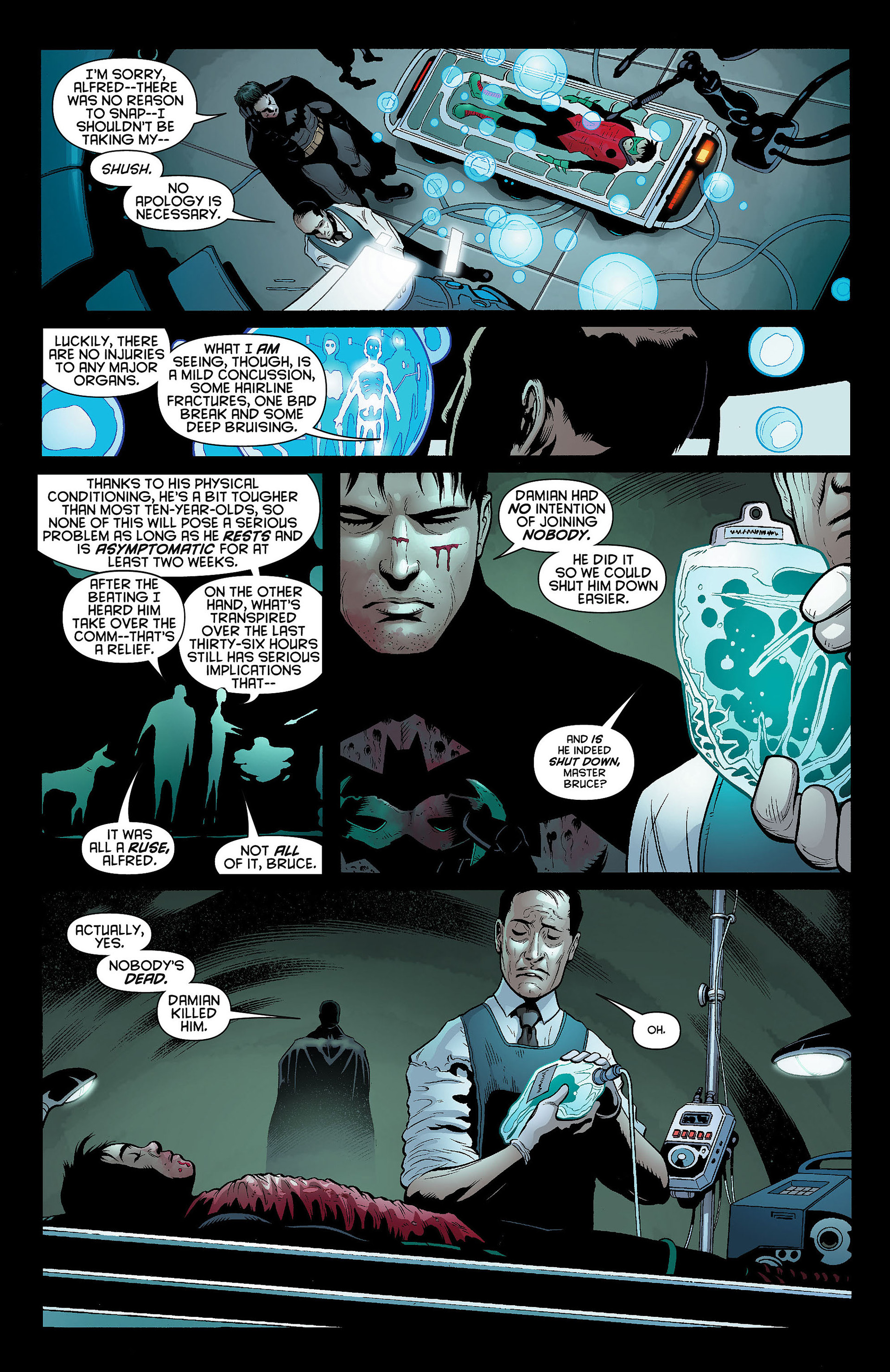 Read online Batman and Robin (2011) comic -  Issue #8 - 9