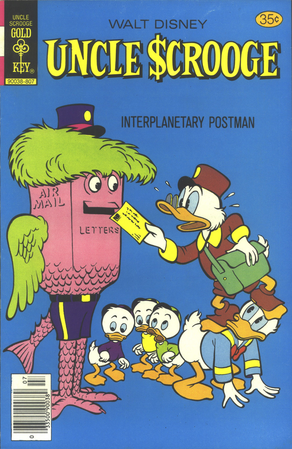Read online Uncle Scrooge (1953) comic -  Issue #154 - 1