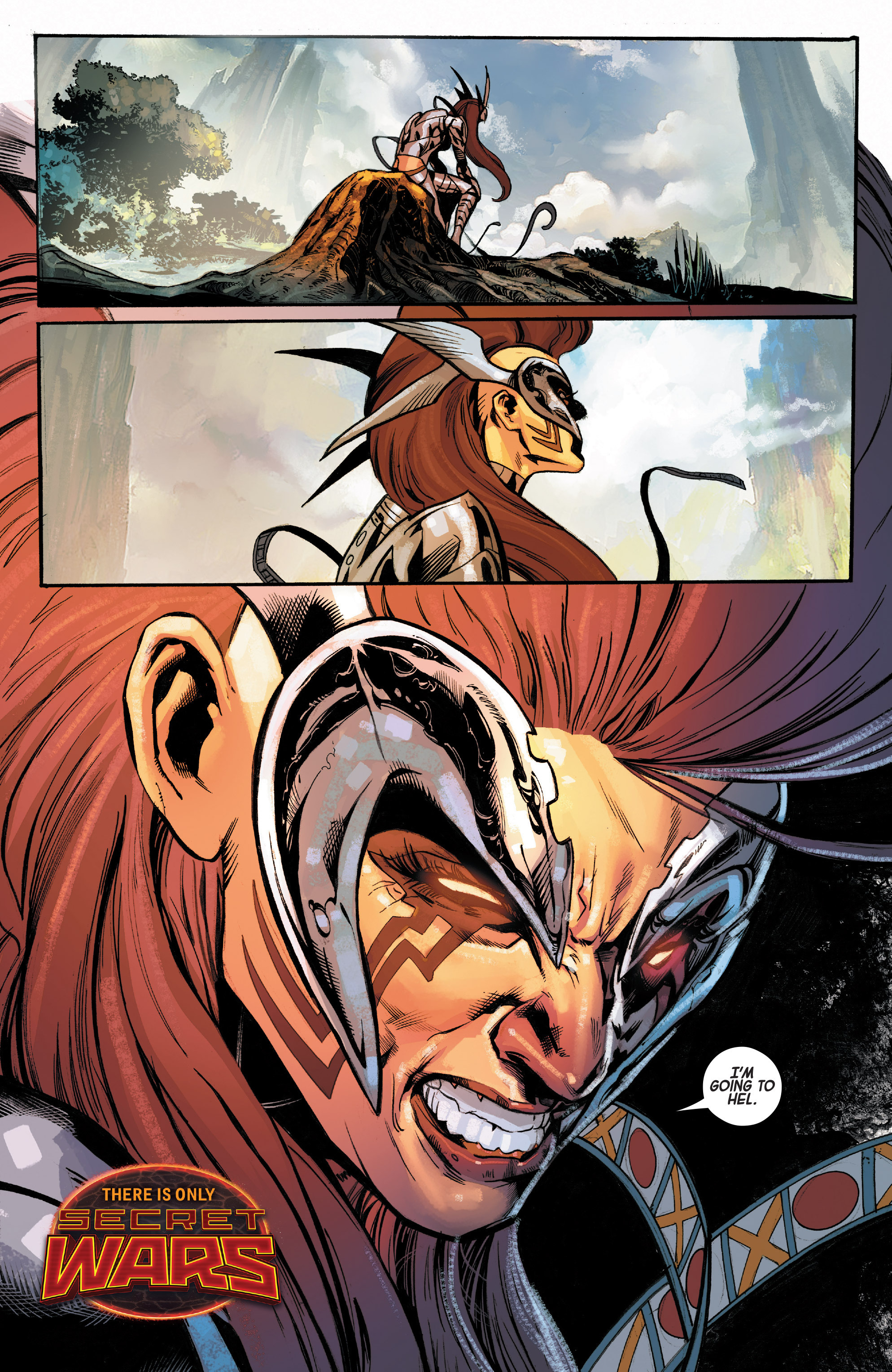 Read online Angela: Asgard's Assassin comic -  Issue #6 - 22