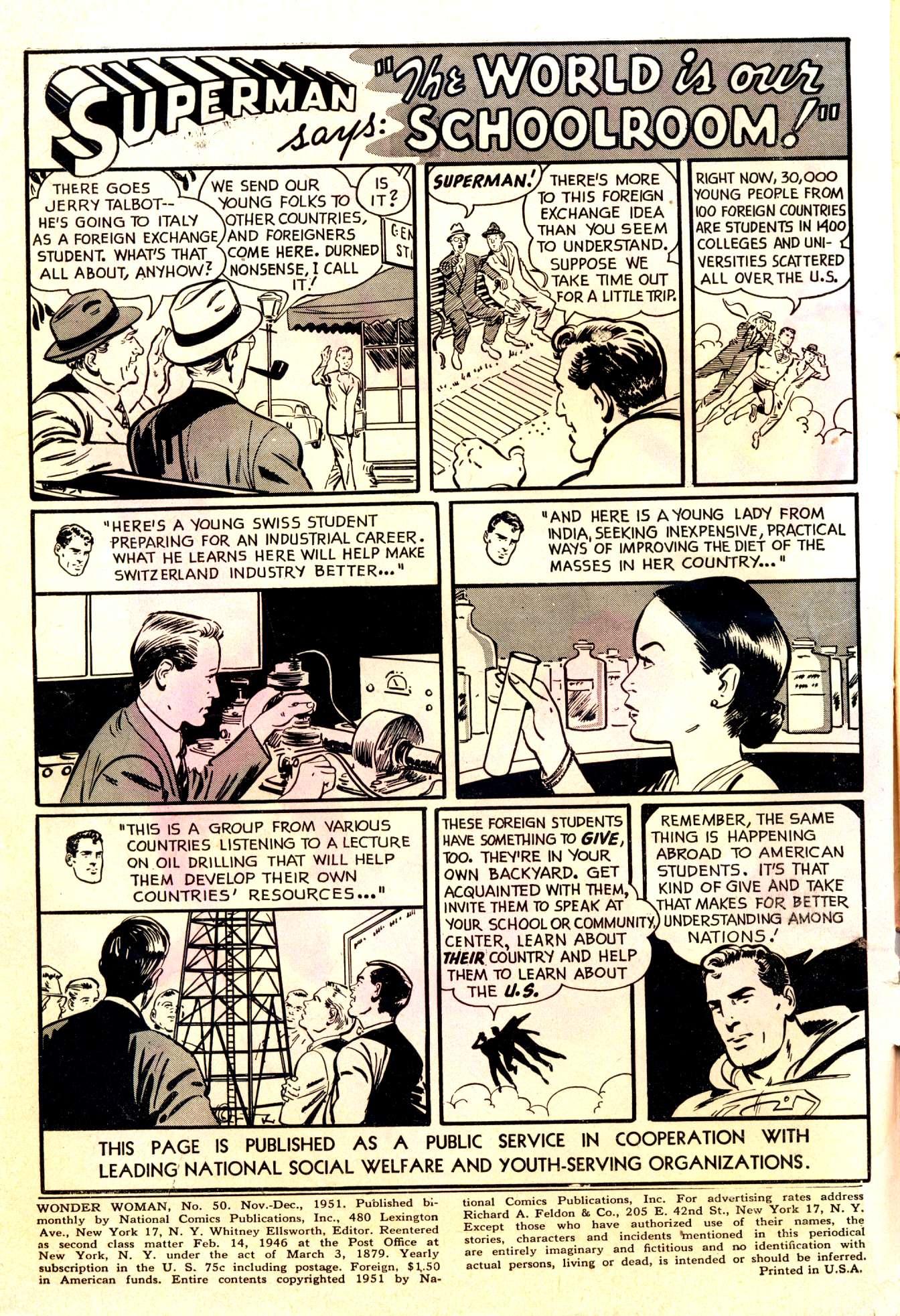 Read online Wonder Woman (1942) comic -  Issue #50 - 2