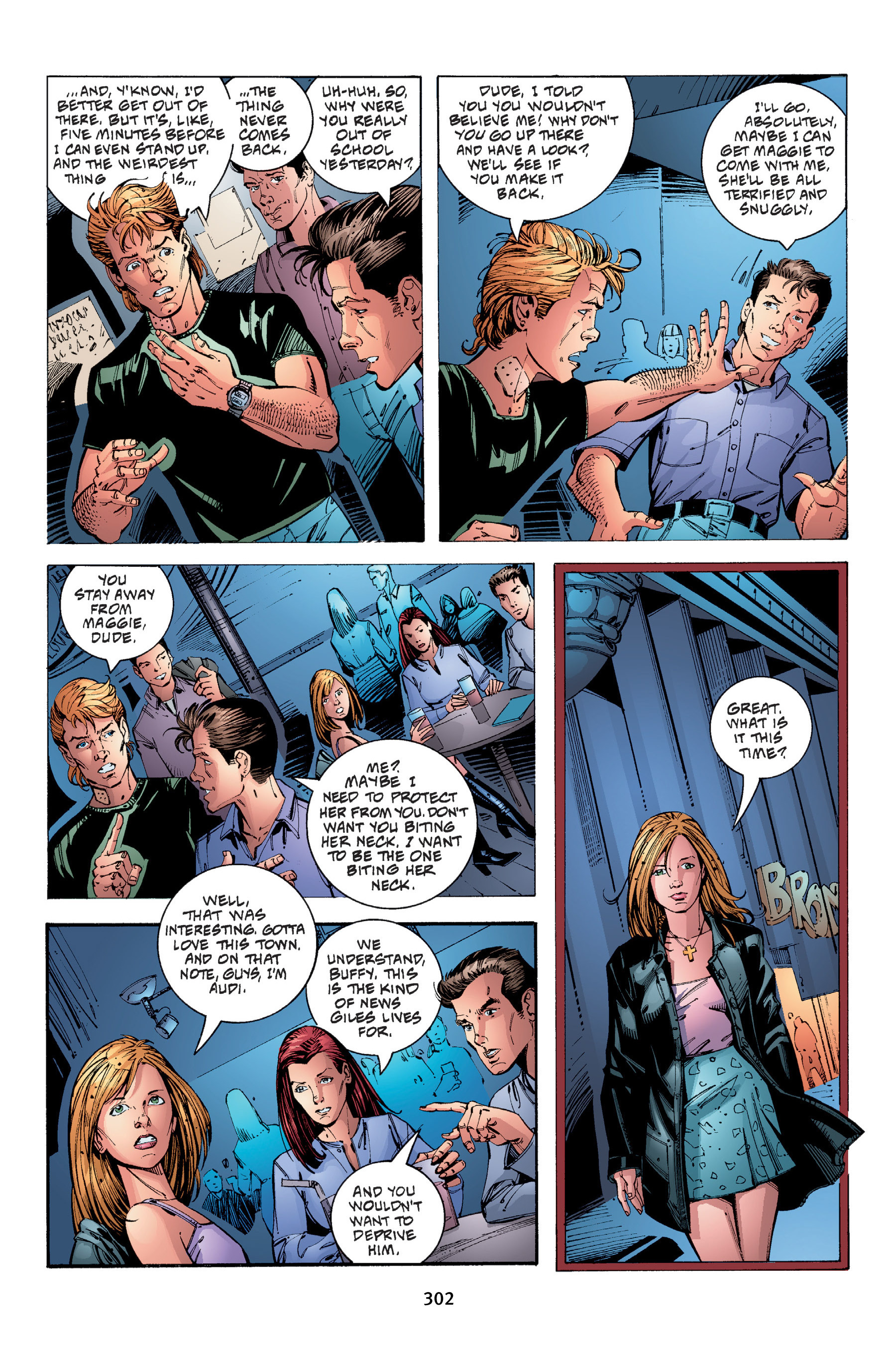 Read online Buffy the Vampire Slayer: Omnibus comic -  Issue # TPB 4 - 299