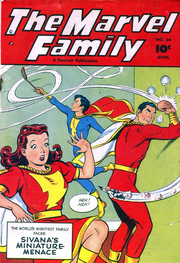 The Marvel Family 34 Page 1