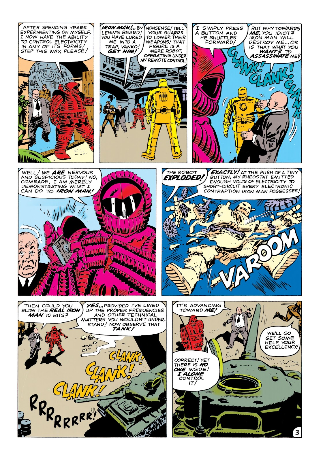 Read online Marvel Masterworks: The Invincible Iron Man comic -  Issue # TPB 1 (Part 2) - 9