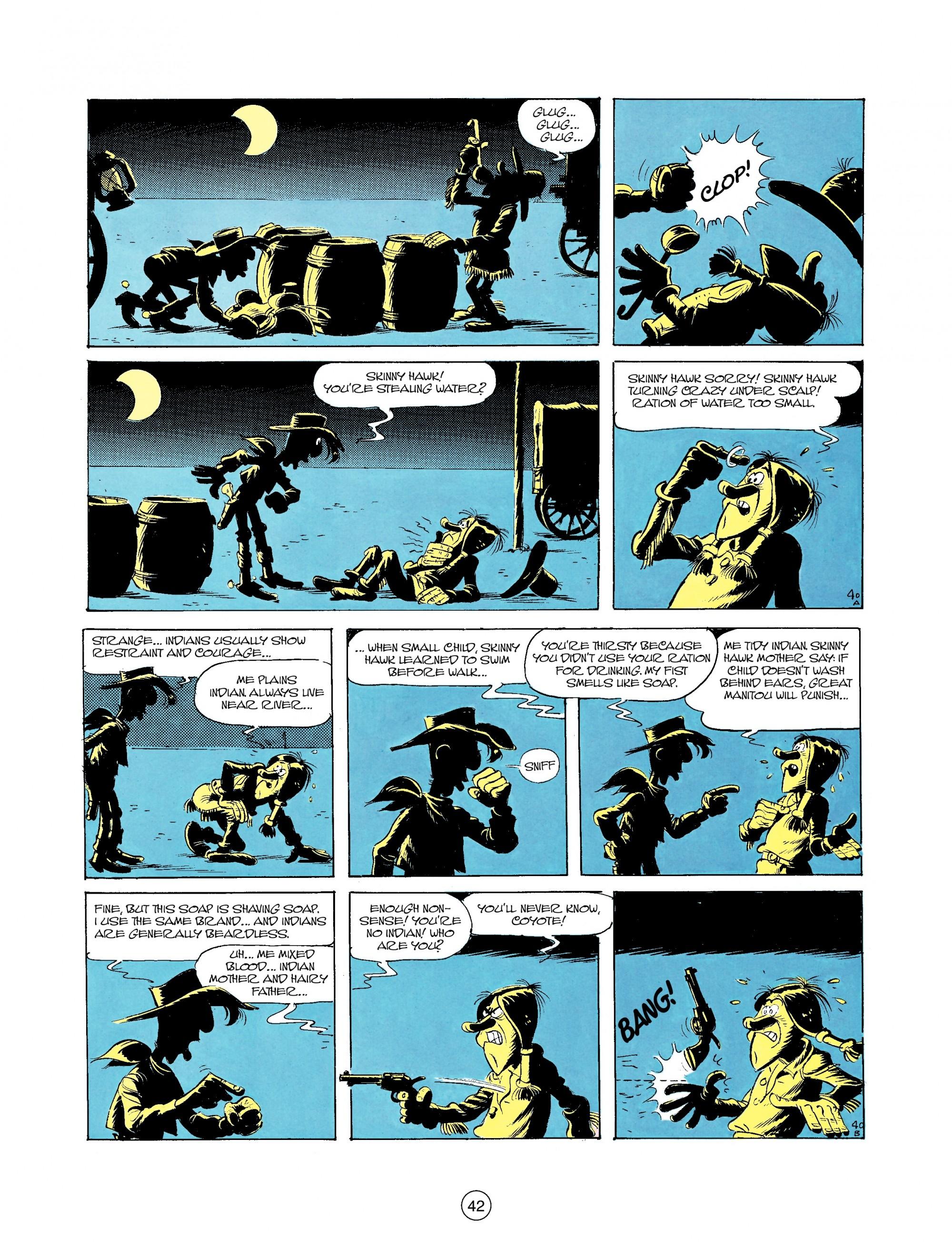 Read online A Lucky Luke Adventure comic -  Issue #35 - 42