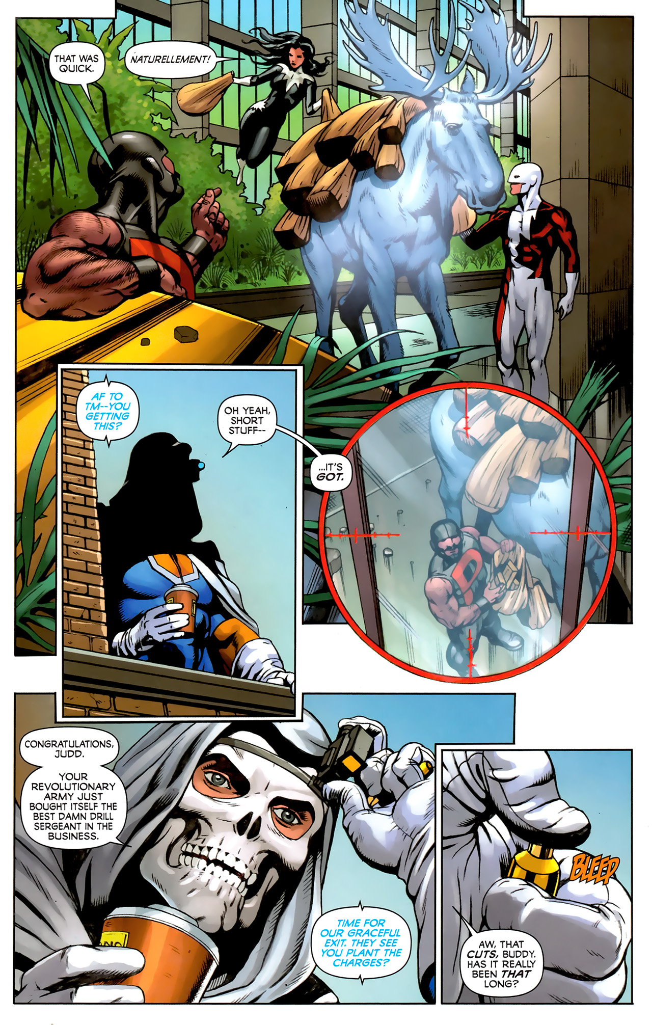 Read online Alpha Flight (2011) comic -  Issue #5 - 14