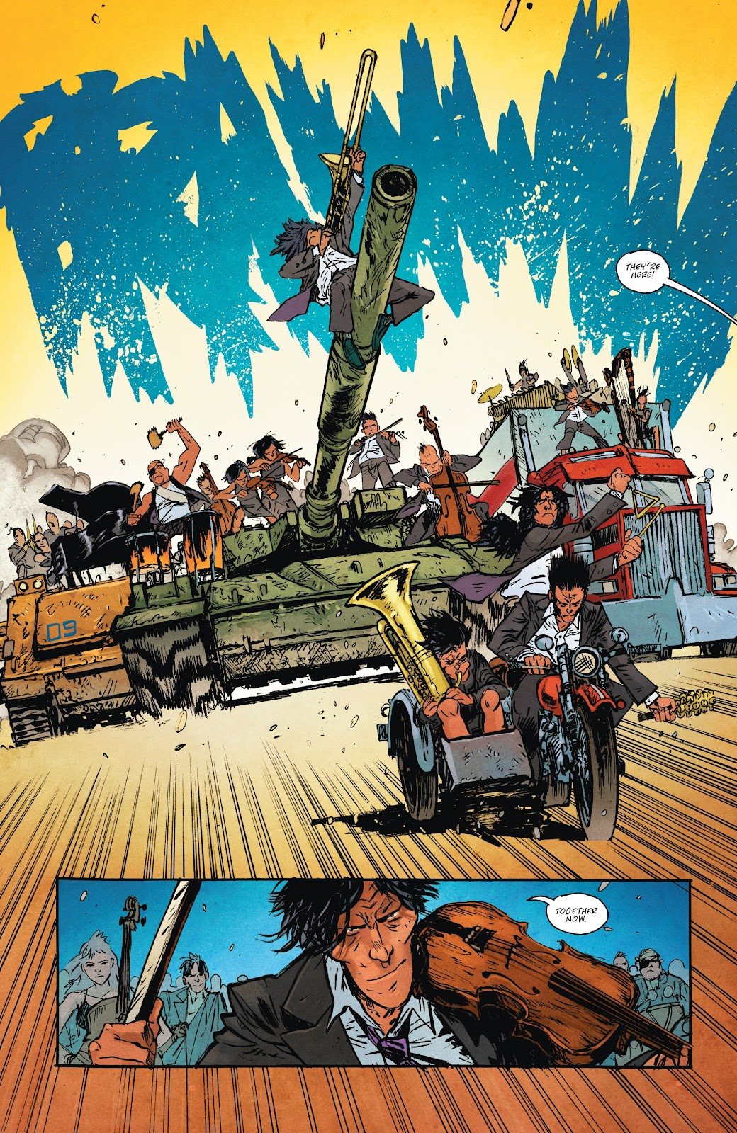Read online Murder Falcon comic -  Issue #7 - 15