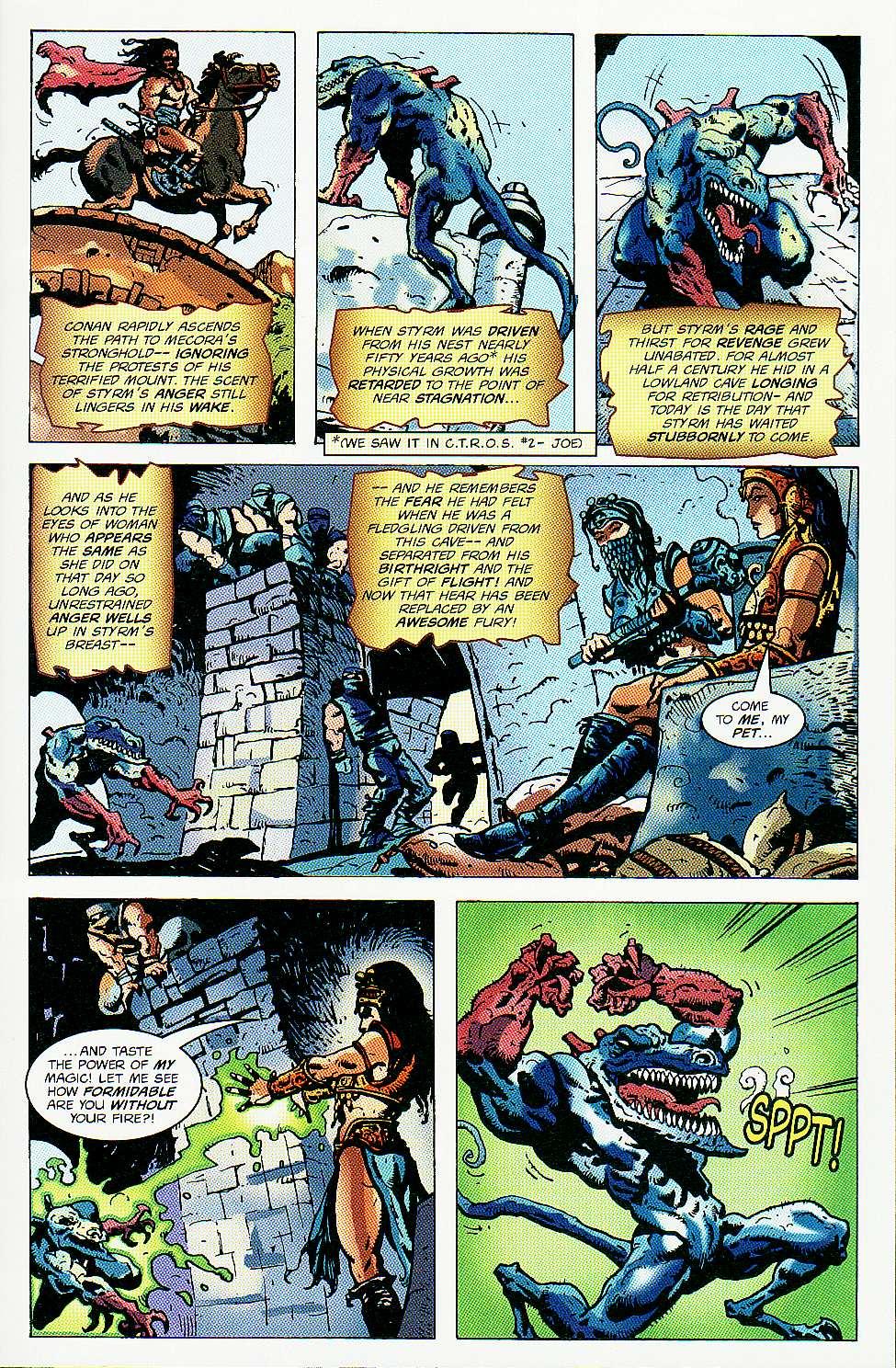 Read online Conan: Return of Styrm comic -  Issue #3 - 19
