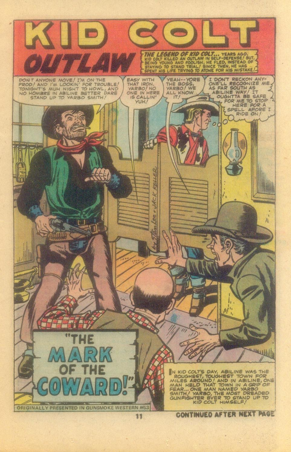 Kid Colt Outlaw issue 209 - Page 13