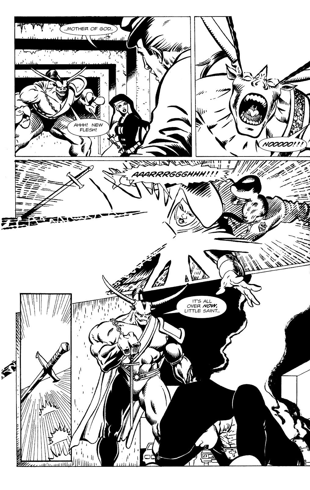 Warrior Nun Areala:  Dangerous Game Issue #1 #1 - English 21