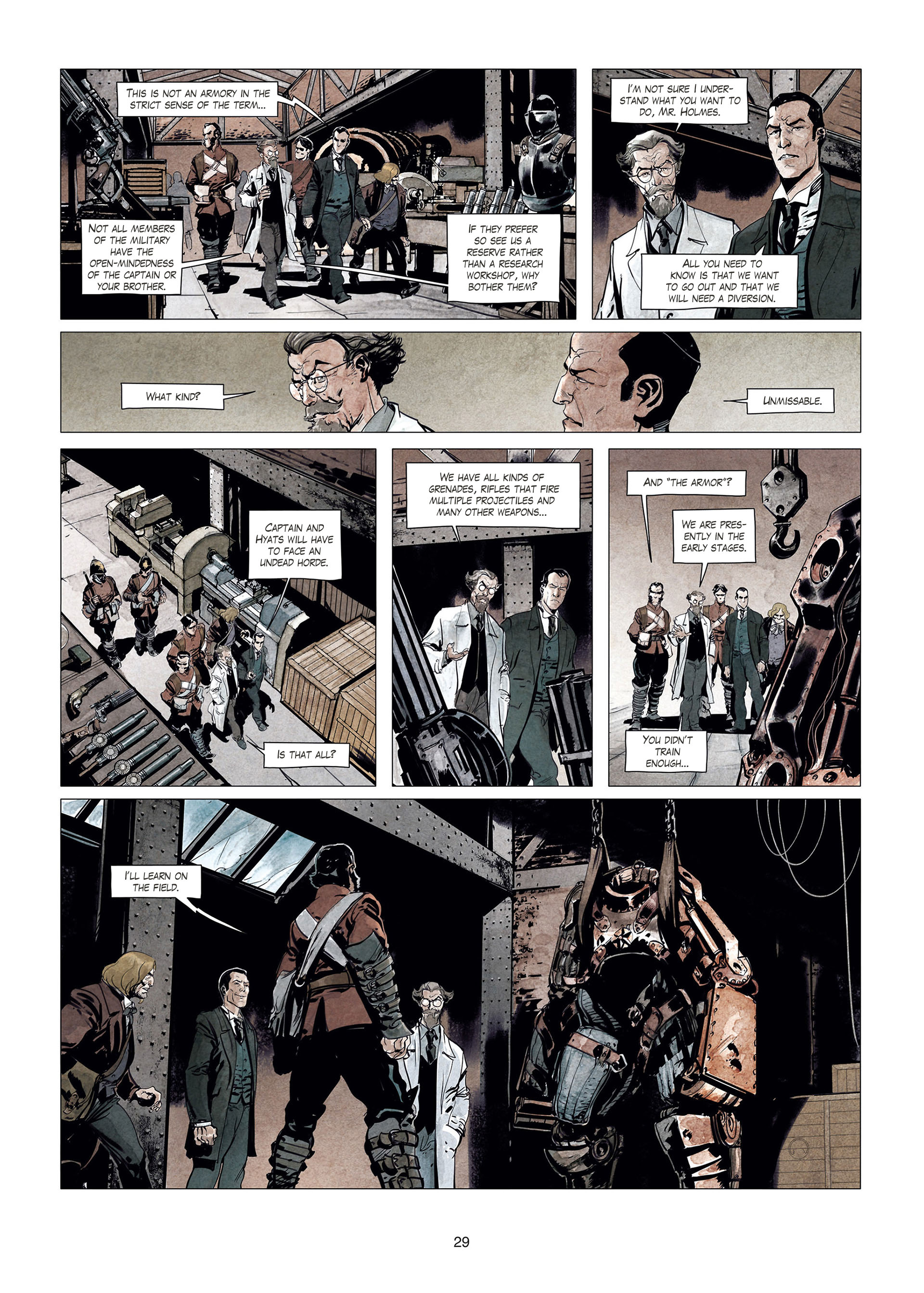 Read online Sherlock Holmes Society Tome 4 : Contamination comic -  Issue # Full - 29