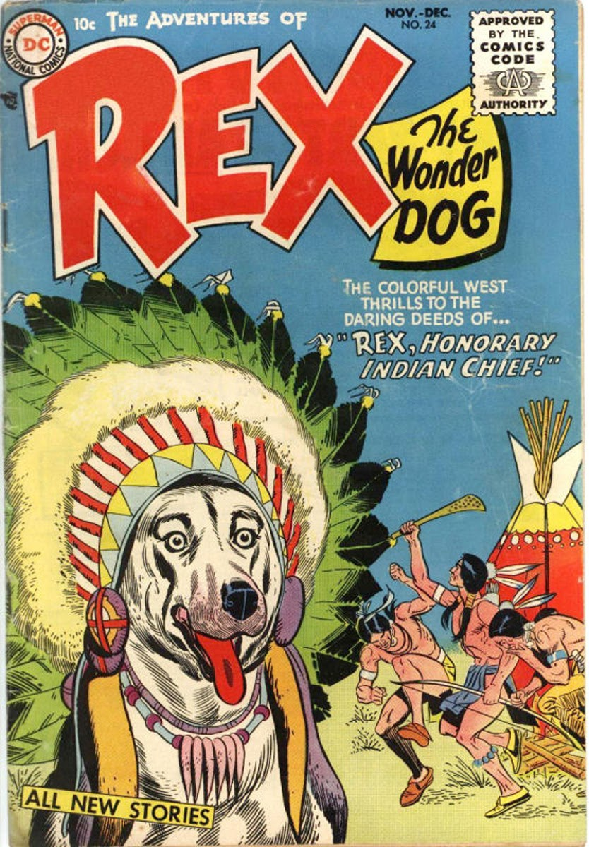 The Adventures of Rex the Wonder Dog issue 24 - Page 1