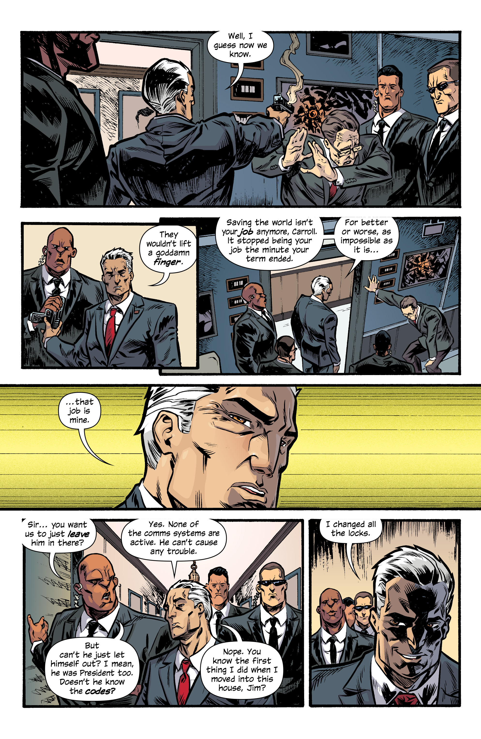 Read online Letter 44 comic -  Issue #33 - 7