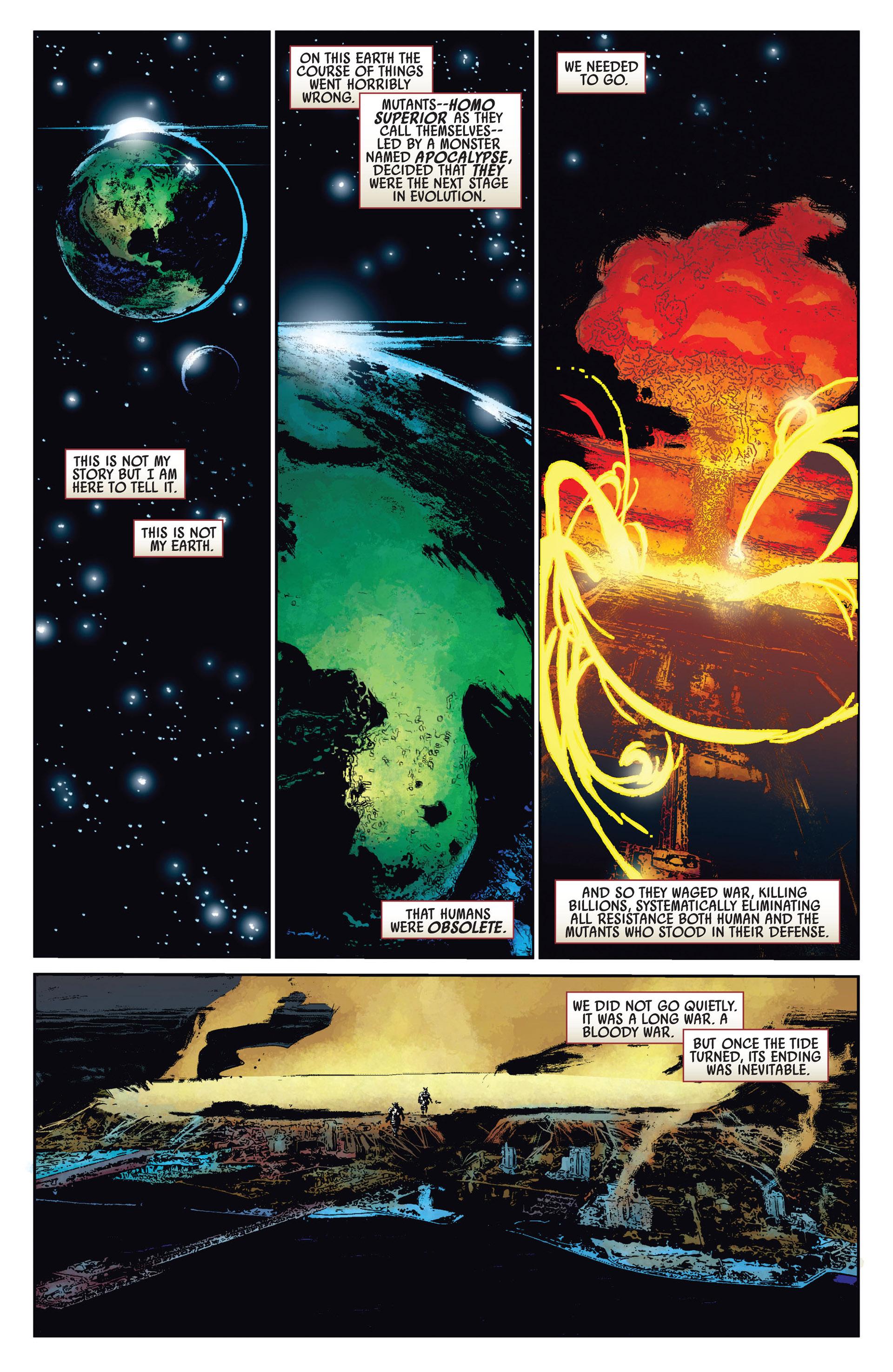 Read online Age of Apocalypse (2012) comic -  Issue #1 - 3