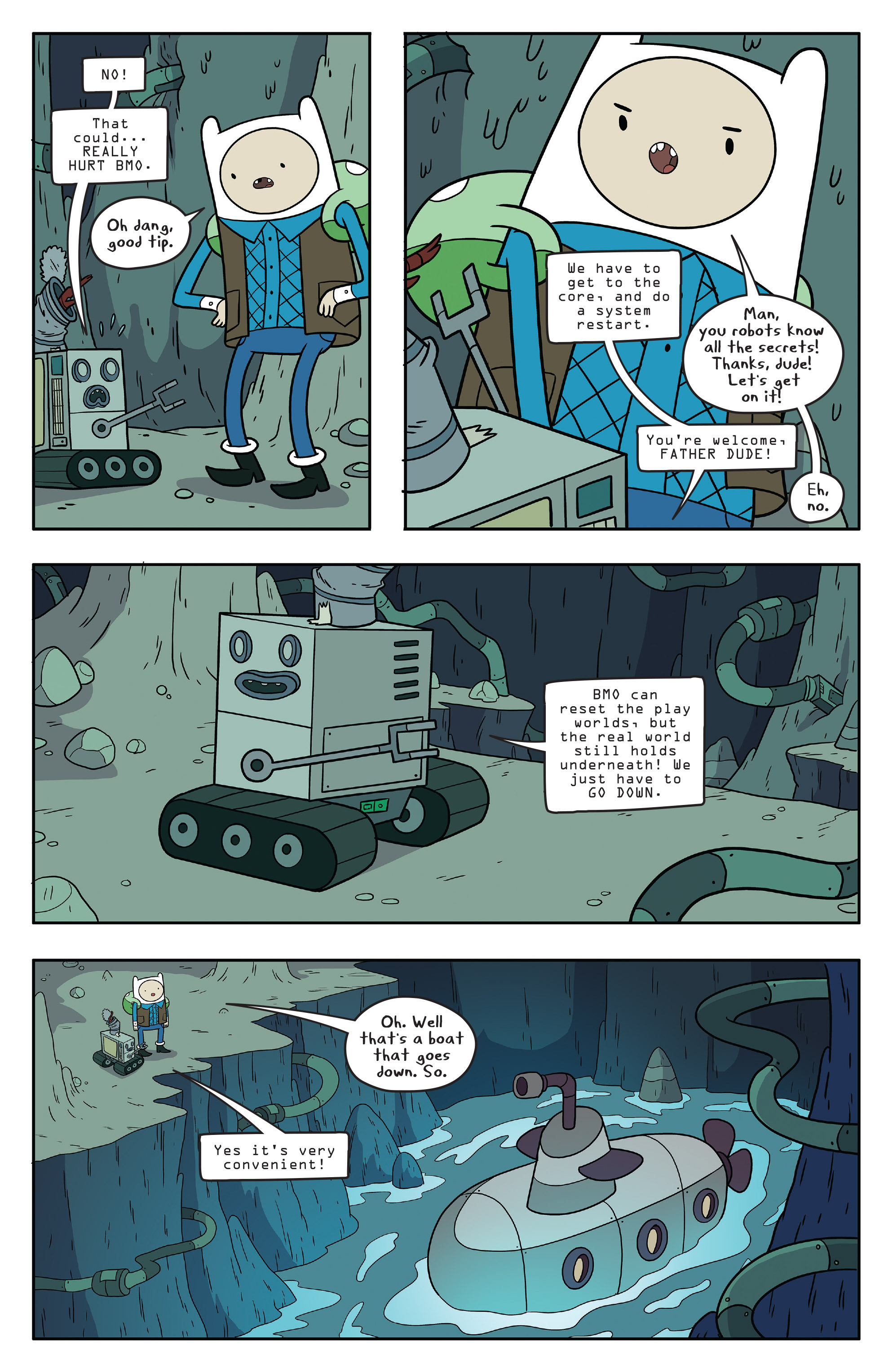 Read online Adventure Time comic -  Issue #56 - 13
