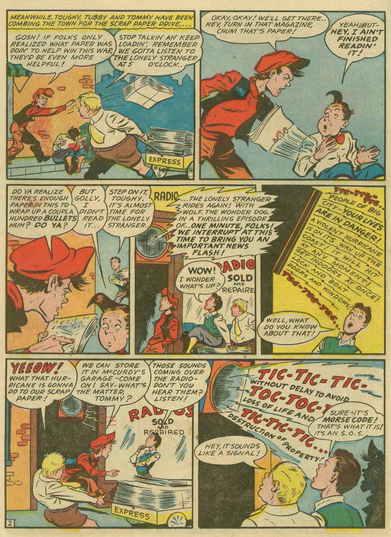 Read online Sensation (Mystery) Comics comic -  Issue #28 - 27