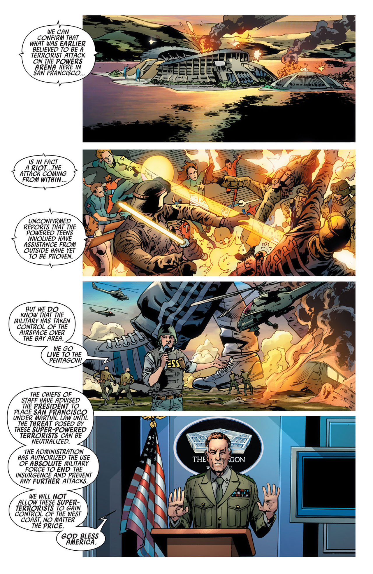 Read online America's Got Powers comic -  Issue #5 - 6