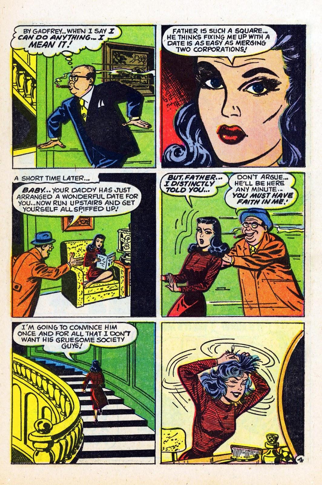 Read online Patsy Walker comic -  Issue #58 - 13
