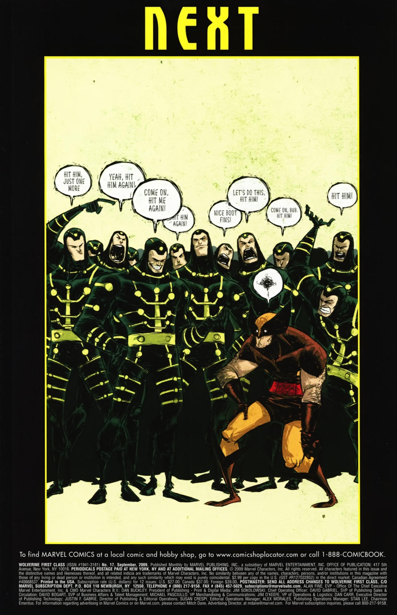 Read online Wolverine: First Class comic -  Issue #17 - 24