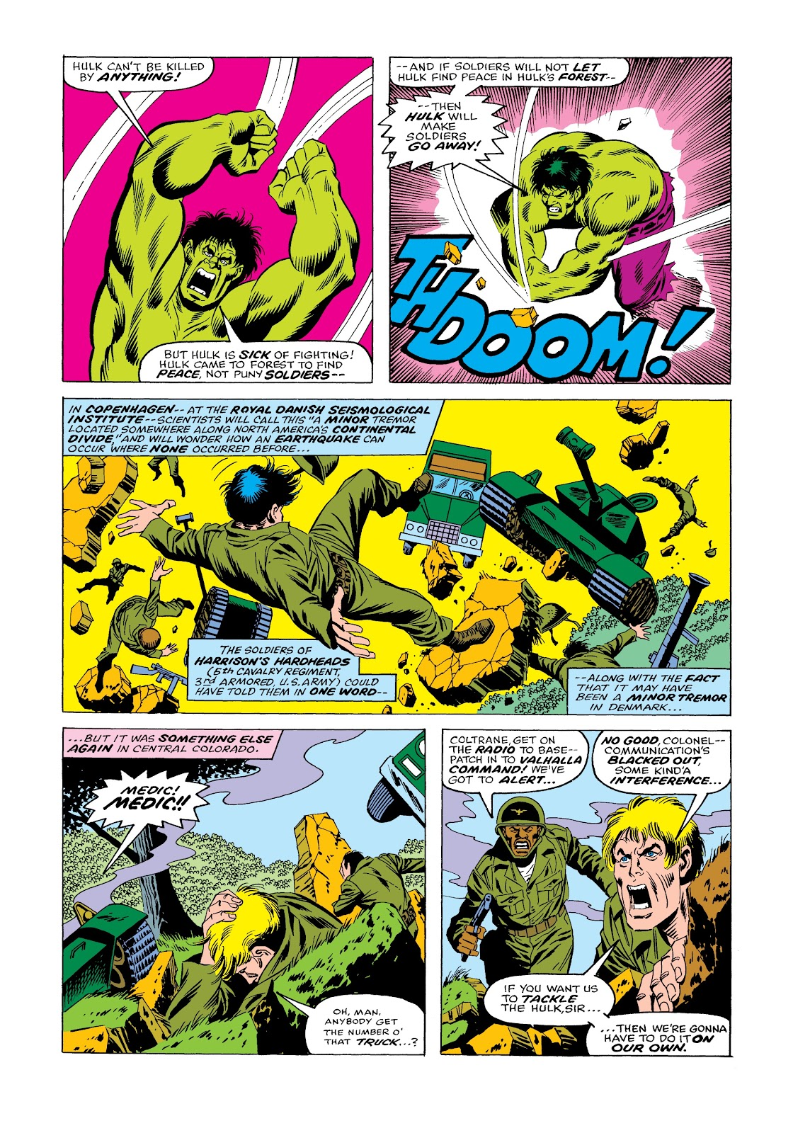 Read online Marvel Masterworks: The Incredible Hulk comic -  Issue # TPB 12 (Part 1) - 49