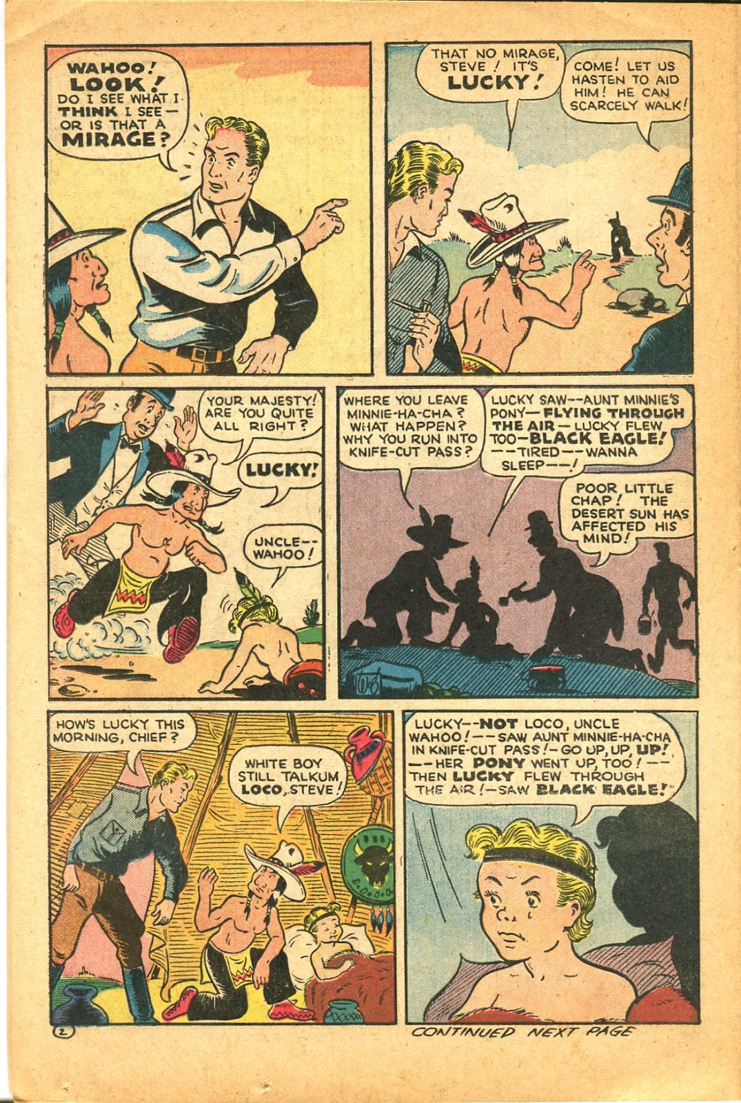 Read online Famous Funnies comic -  Issue #119 - 36