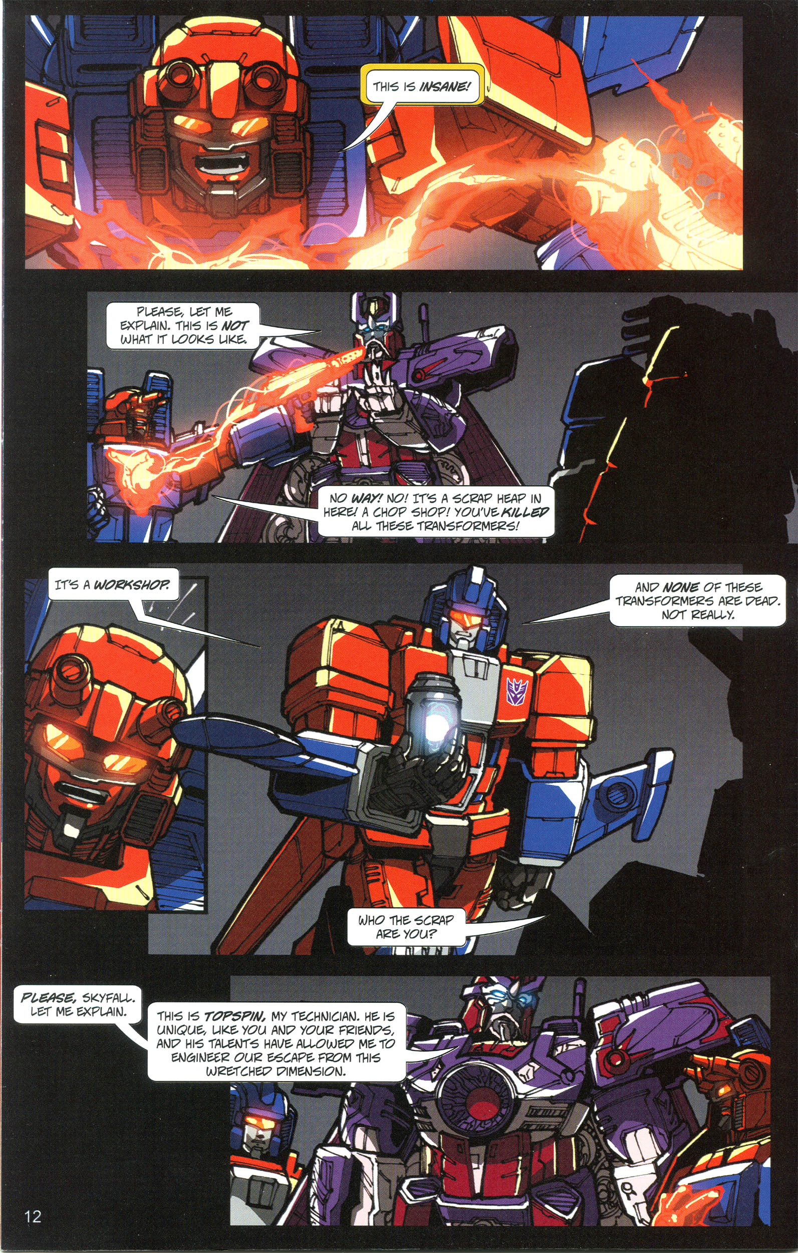 Read online Transformers: Collectors' Club comic -  Issue #21 - 12