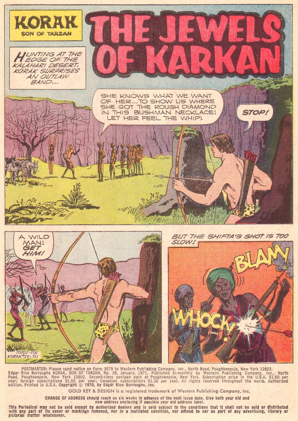 Korak, Son of Tarzan (1964) issue 39 - Page 3