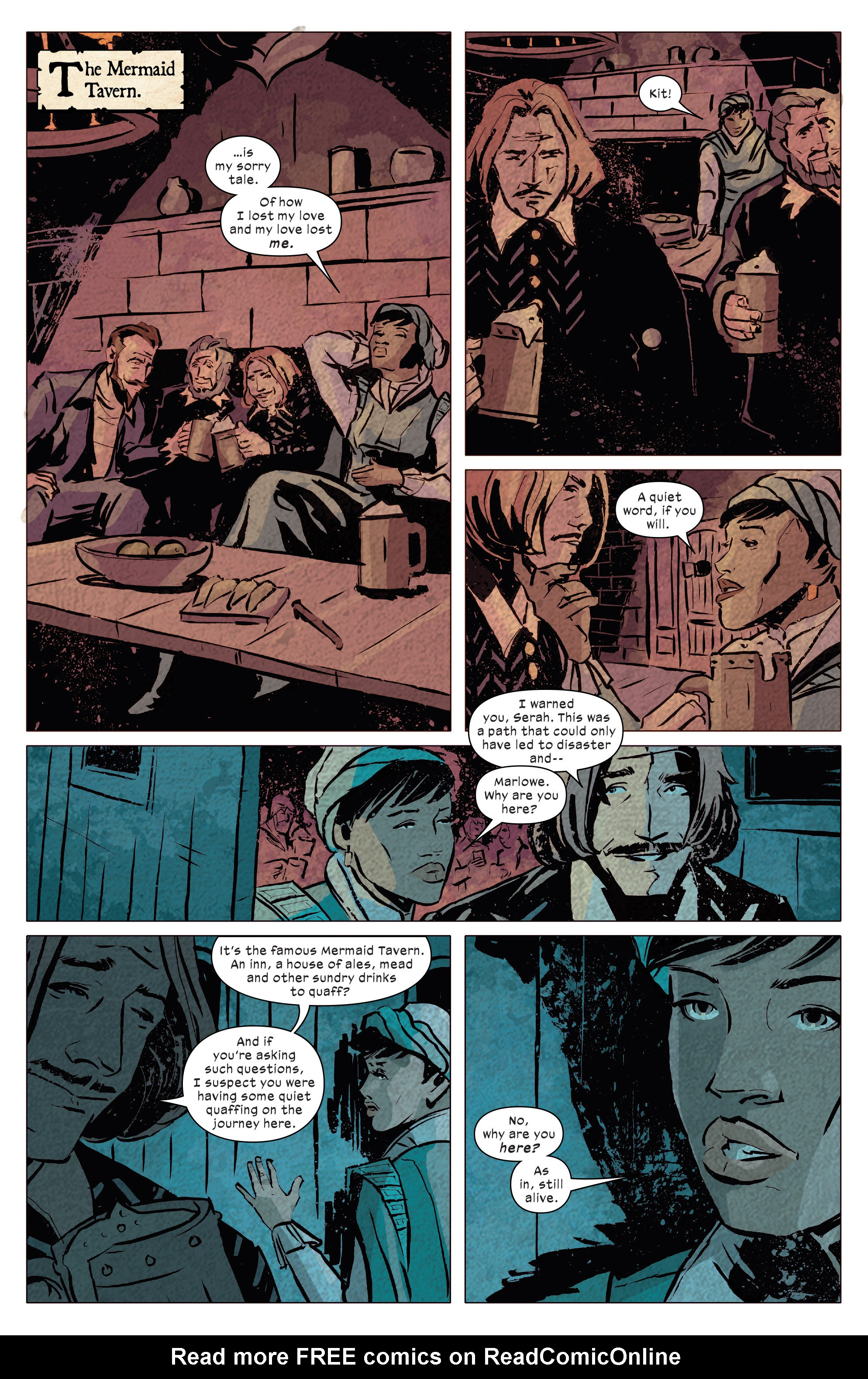 Read online 1602 Witch Hunter Angela comic -  Issue #4 - 15