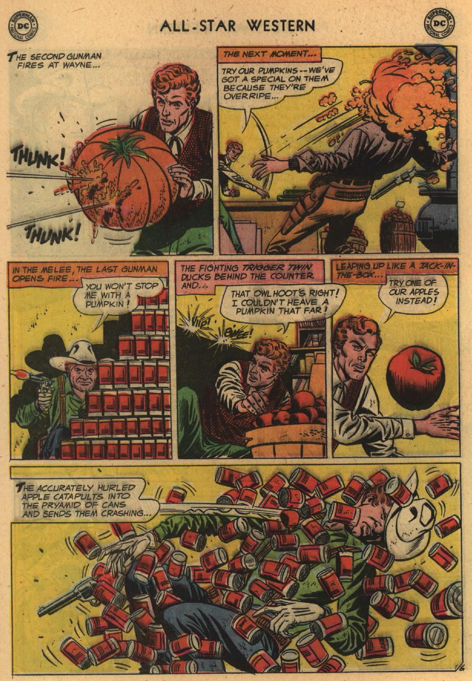 Read online All-Star Western (1951) comic -  Issue #100 - 8