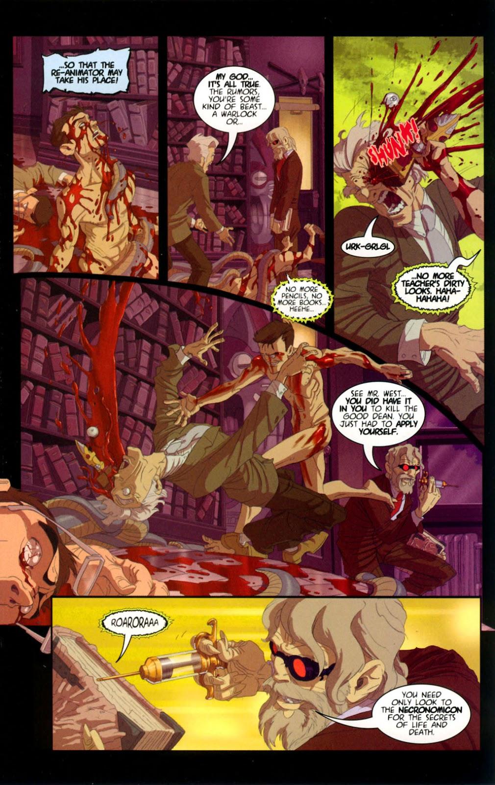 Read online Re-Animator comic -  Issue # Full - 9