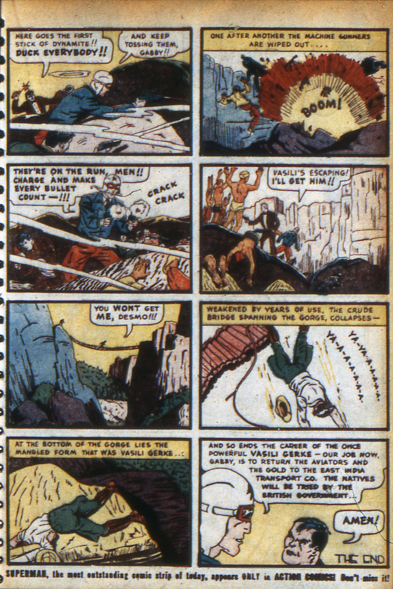 Read online Adventure Comics (1938) comic -  Issue #47 - 42