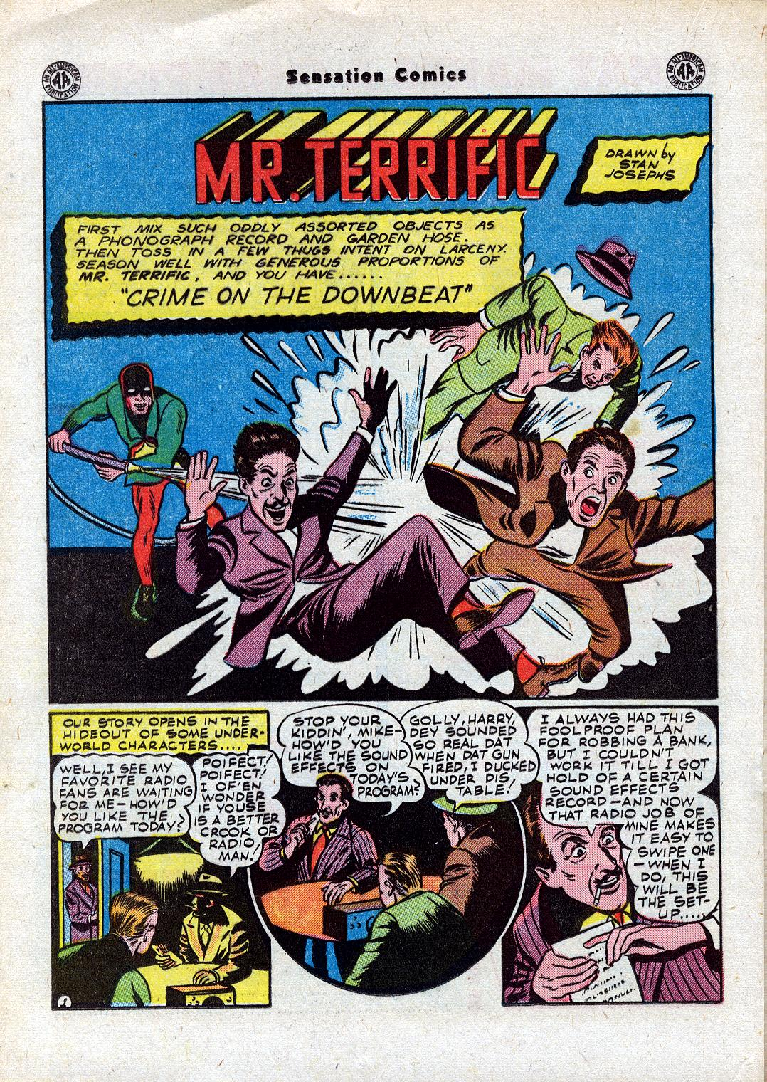 Read online Sensation (Mystery) Comics comic -  Issue #44 - 28