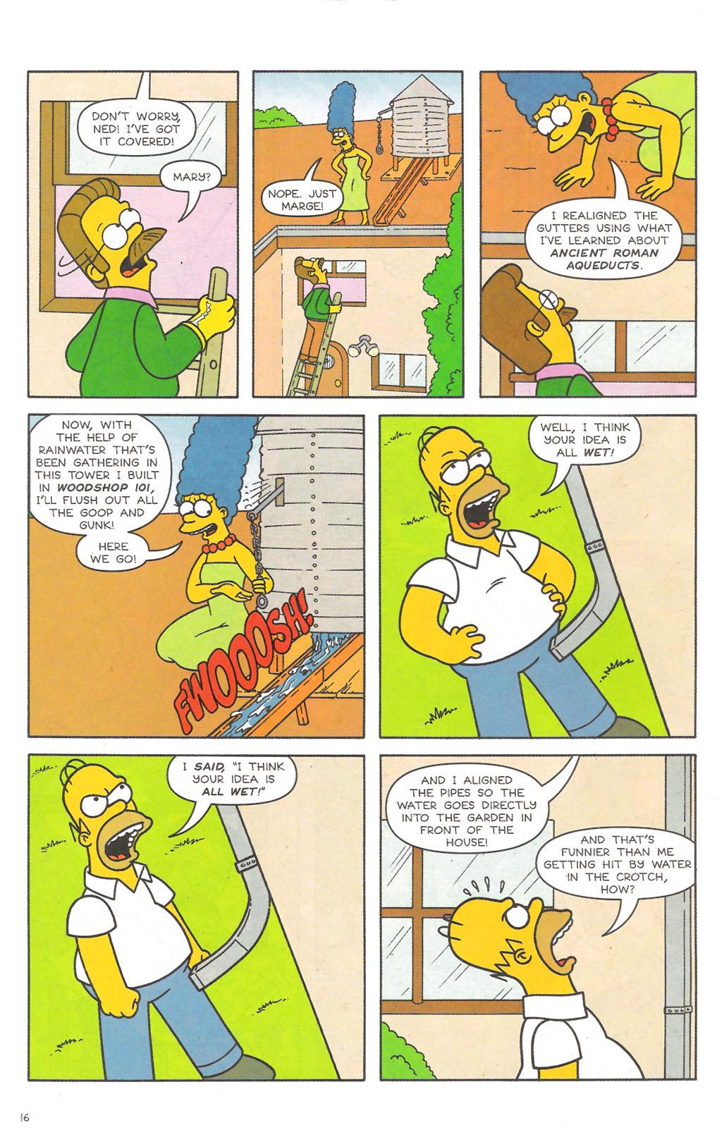 Read online Simpsons Comics comic -  Issue #111 - 17