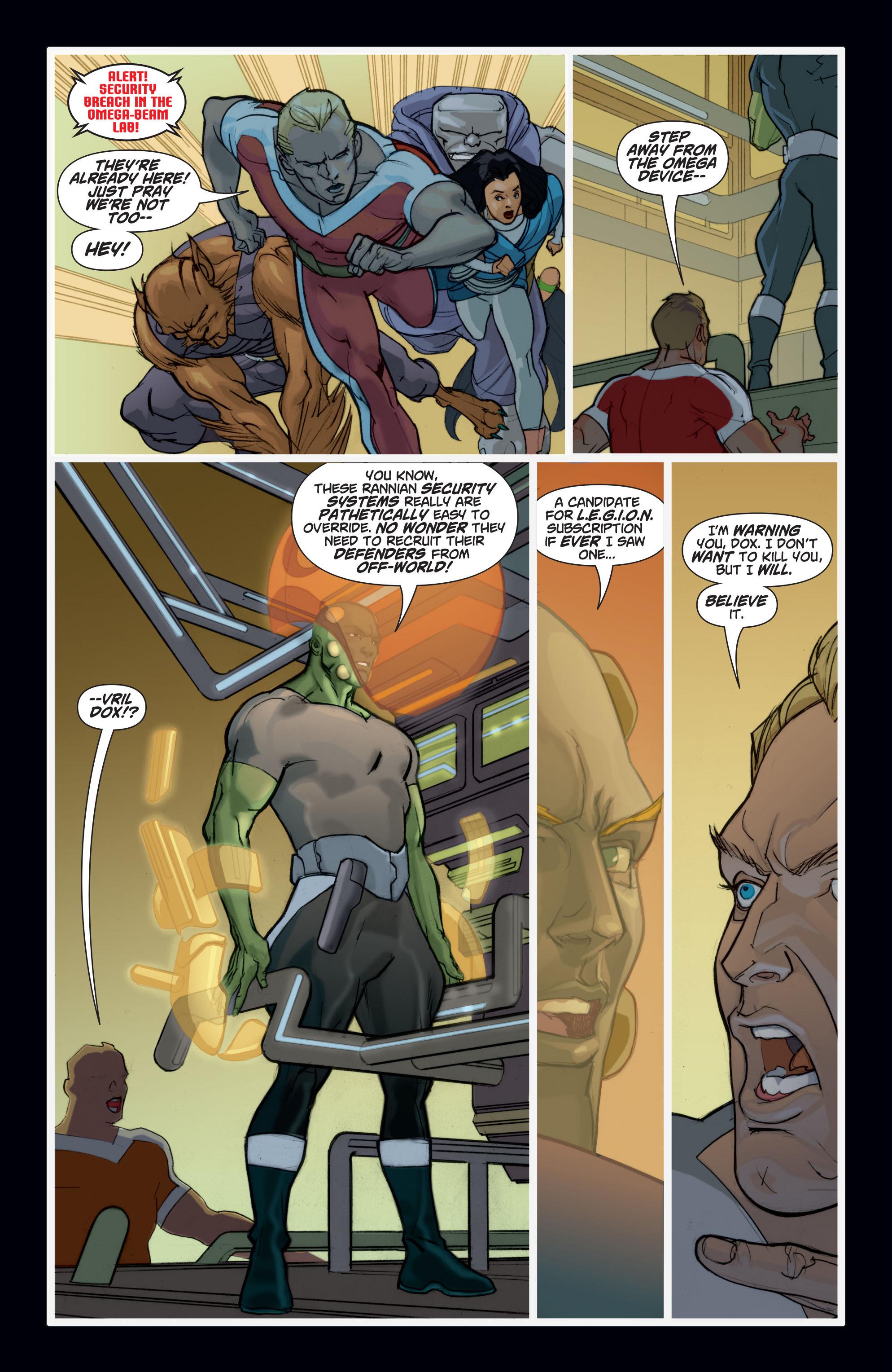Read online Adam Strange (2004) comic -  Issue #7 - 15