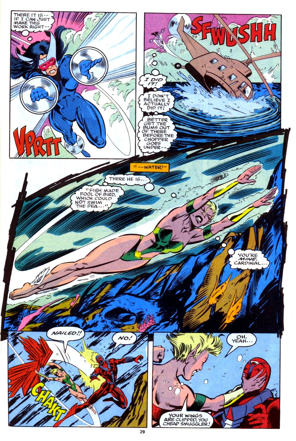 The New Warriors Issue #28 #32 - English 22