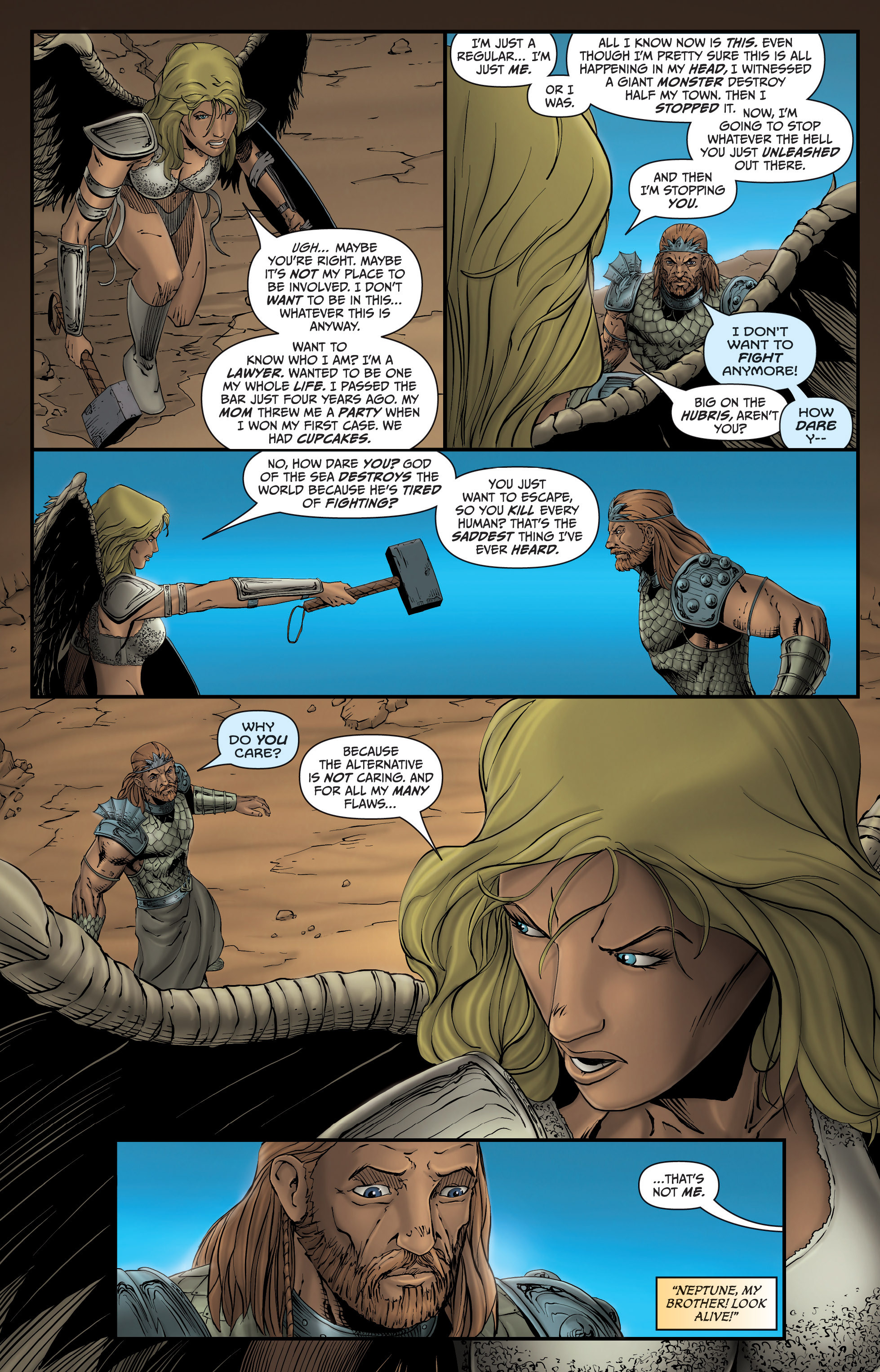 Read online Grimm Fairy Tales presents Grimm Universe comic -  Issue # TPB - 54
