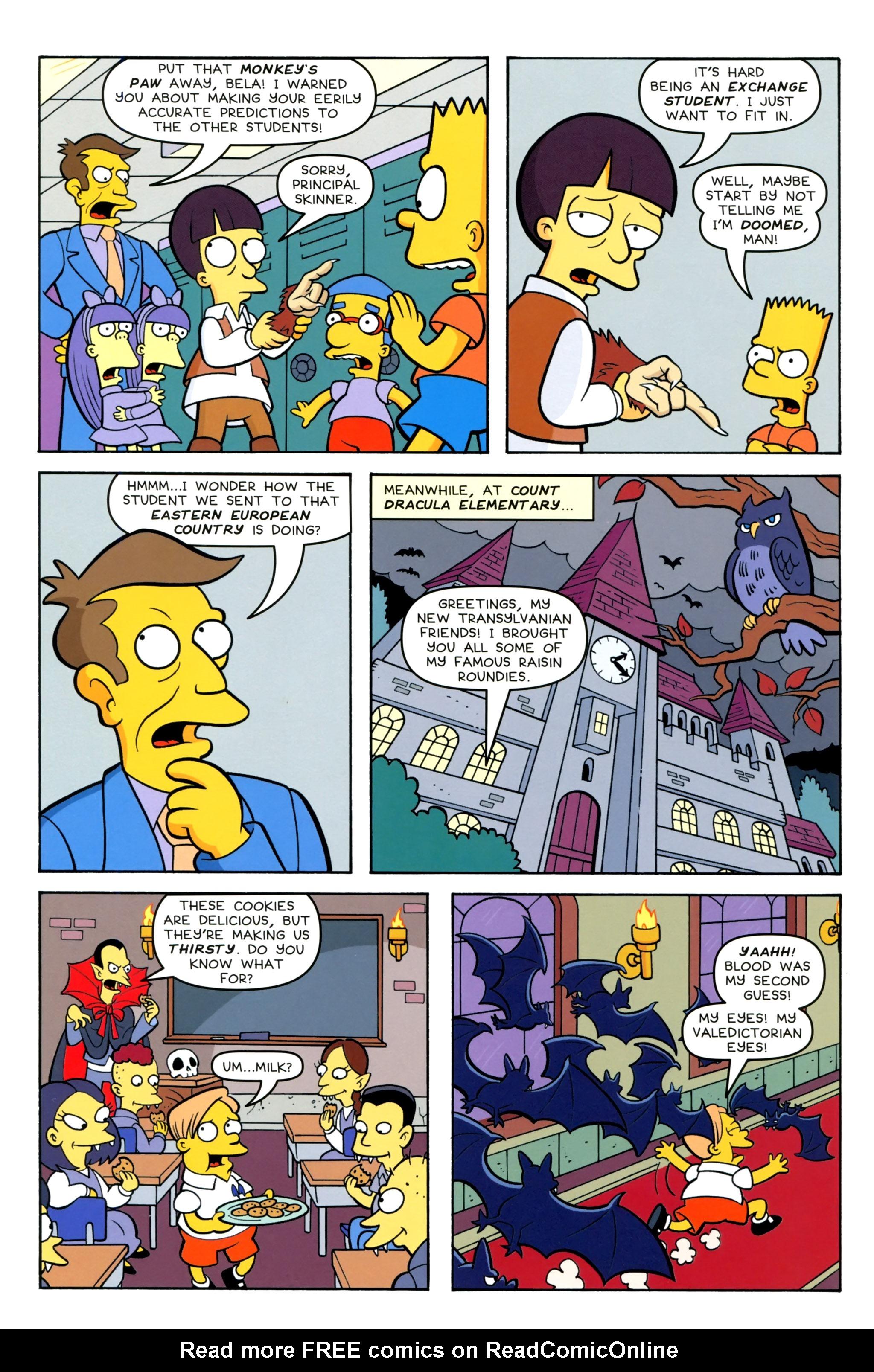 Read online Simpsons Comics Presents Bart Simpson comic -  Issue #100 - 4
