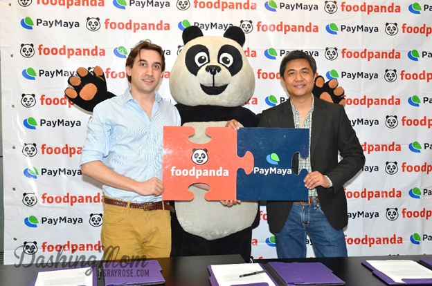 Food Panda is now accepting PayMaya!