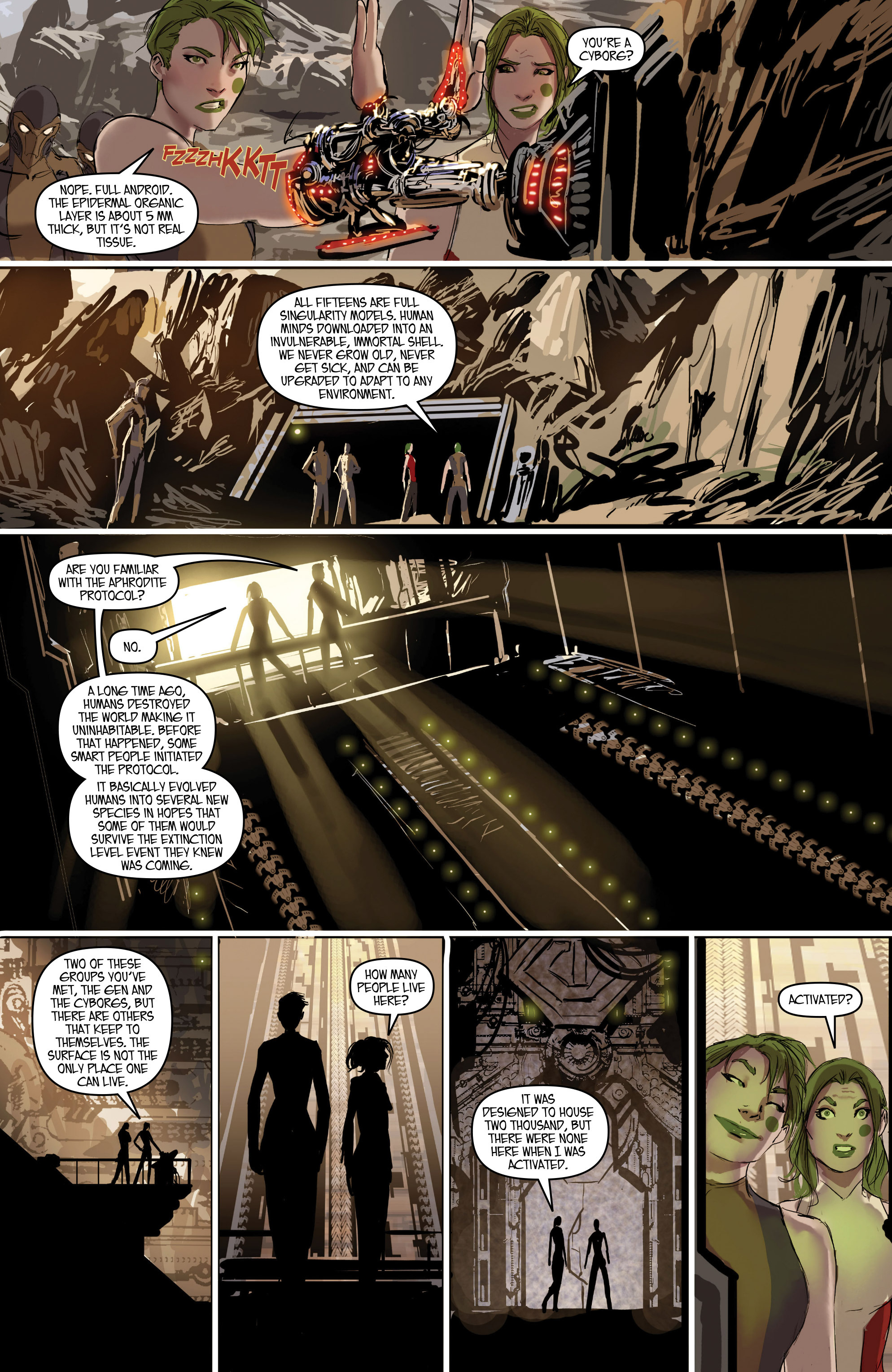 Read online Aphrodite IX (2013) comic -  Issue #Aphrodite IX (2013) _TPB 2 - 23